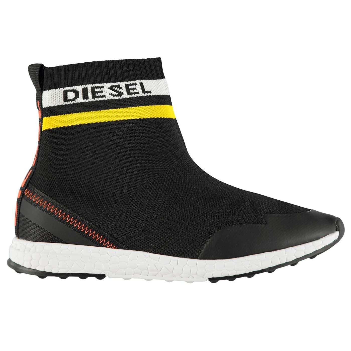 Diesel BR Slip On Junior Boys Trainers