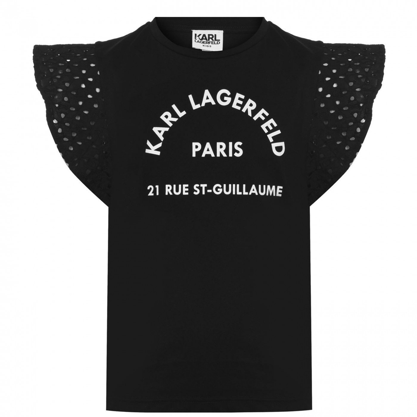 Karl Lagerfeld Paris Logo T Shirt