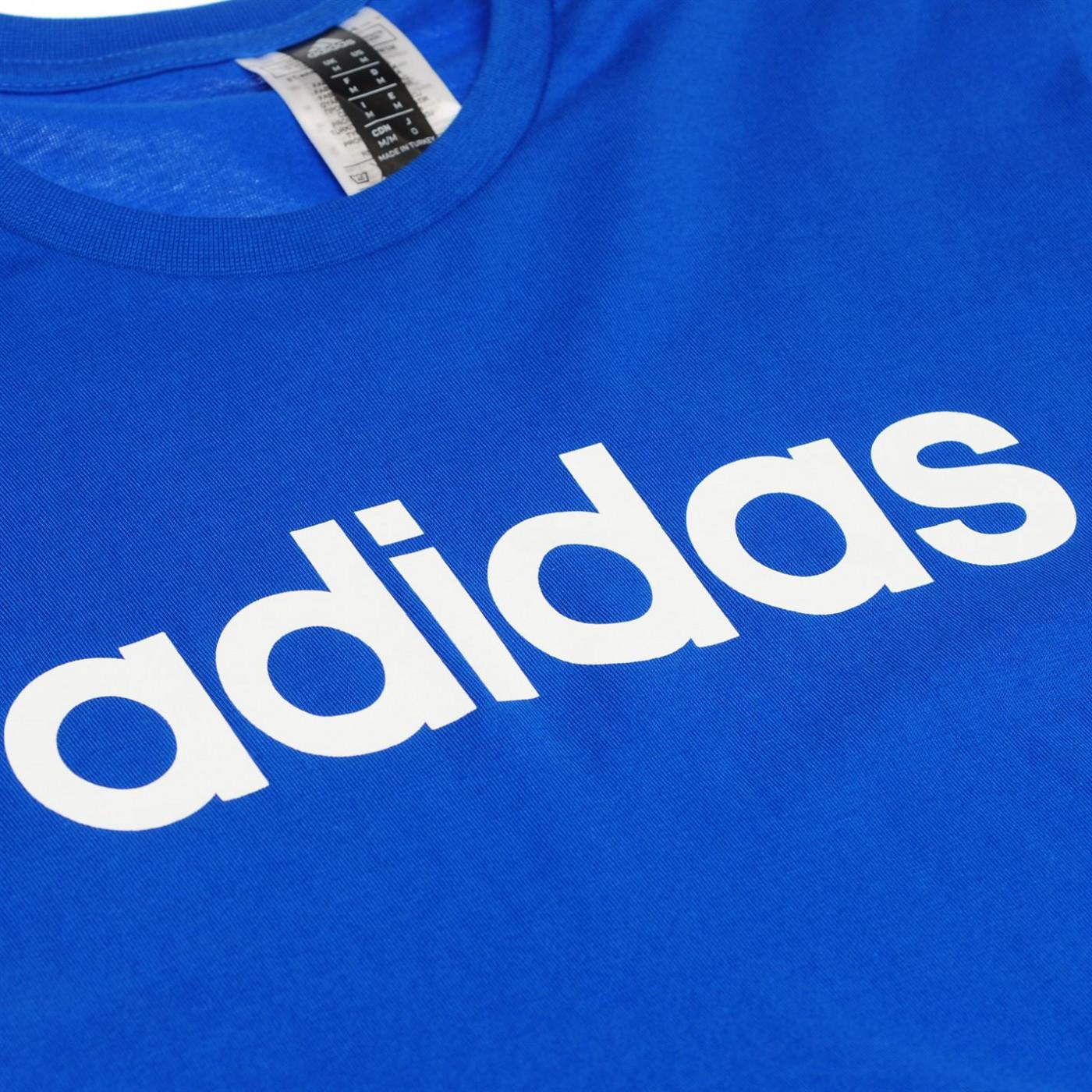 Adidas Linear Logo T Shirt Mens