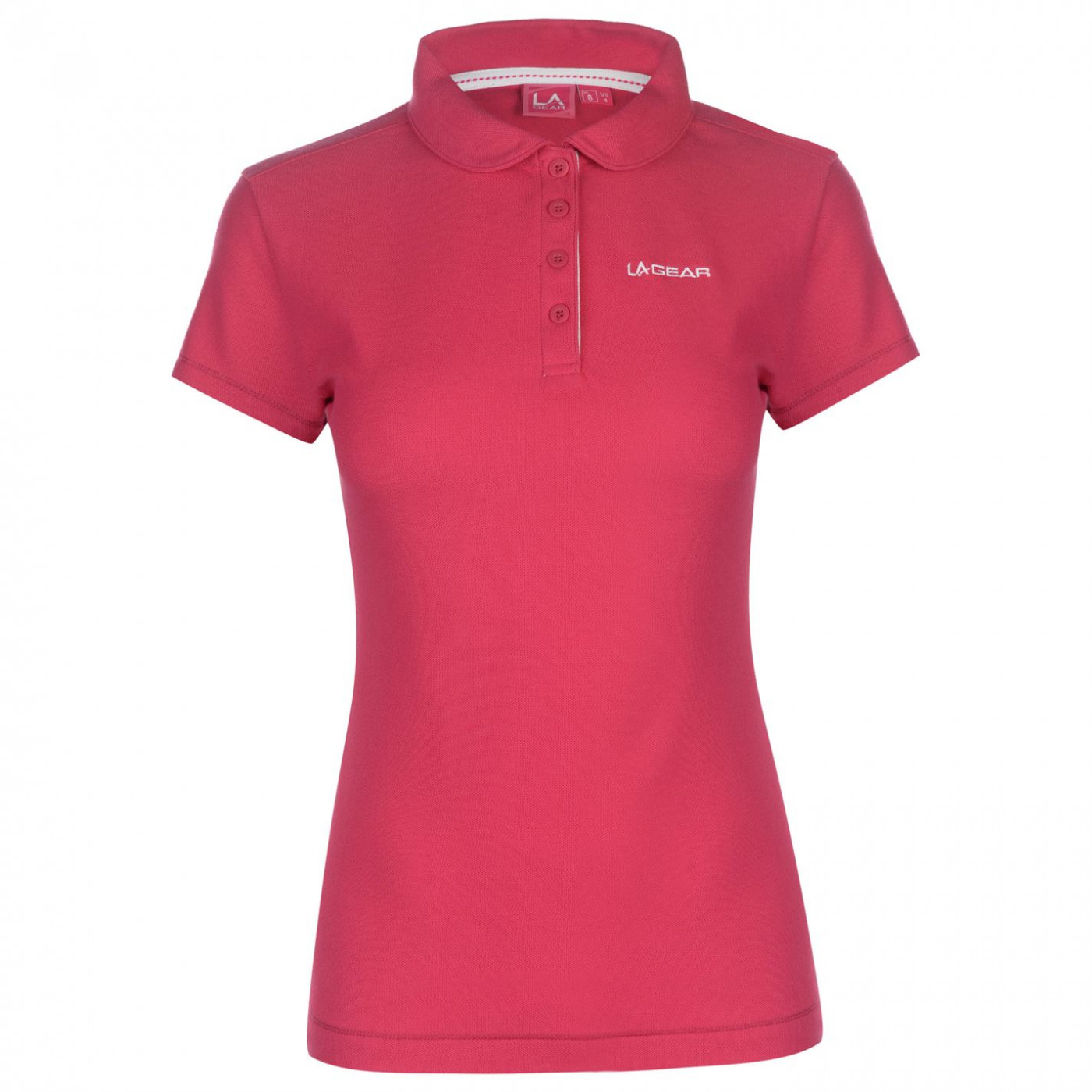 LA Gear Pique Polo Shirt Ladies
