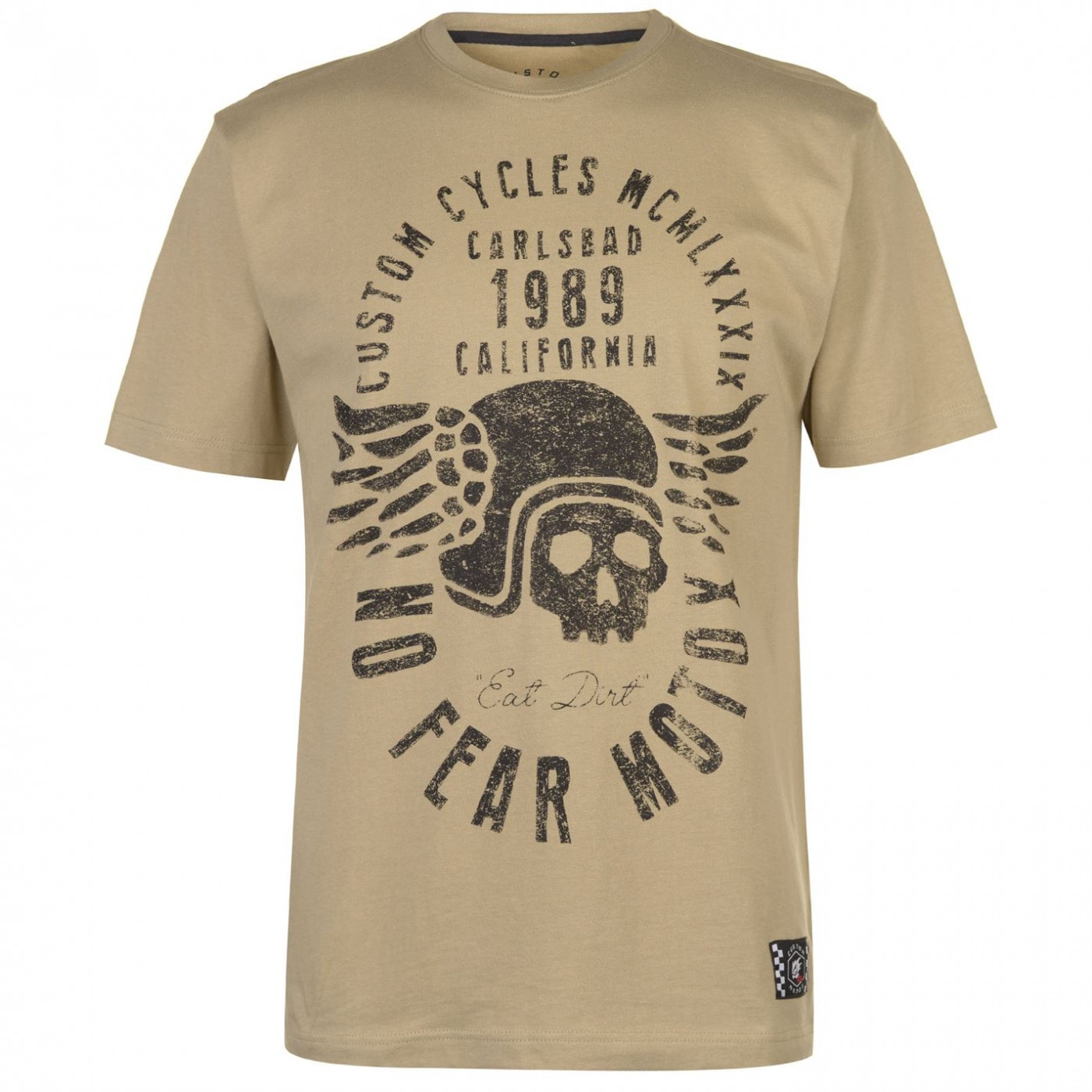 No Fear Custom Motox Basic T Shirt Mens