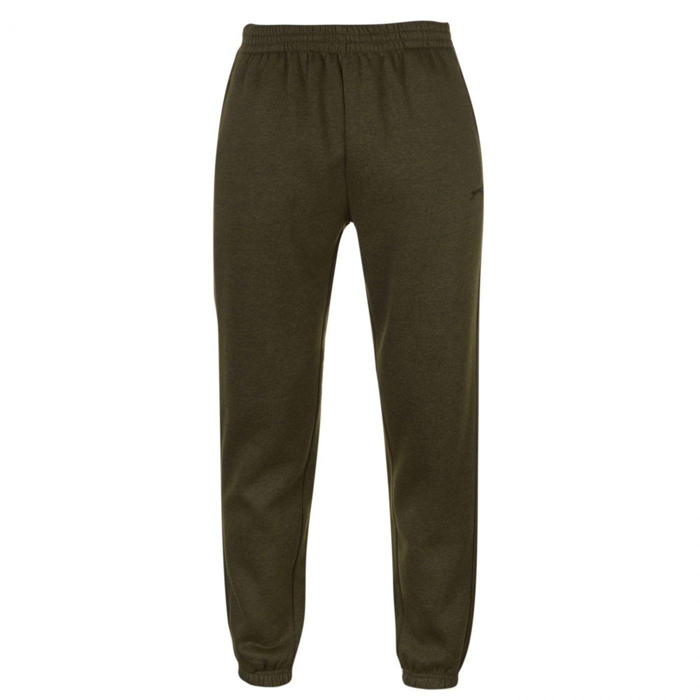 Slazenger Cuffed Fleece Jogging Pants Mens