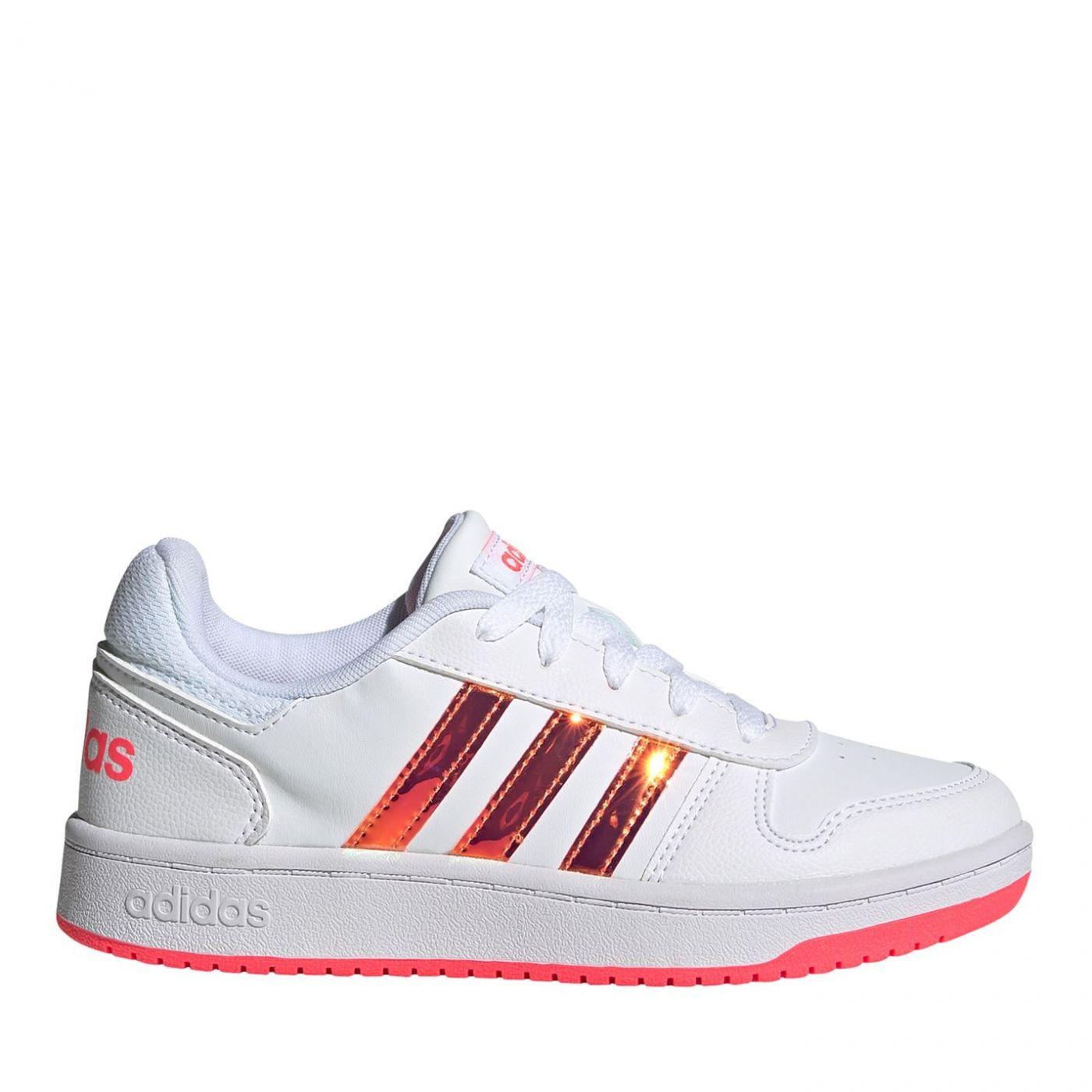 Adidas Hoops Lthr JnGL04