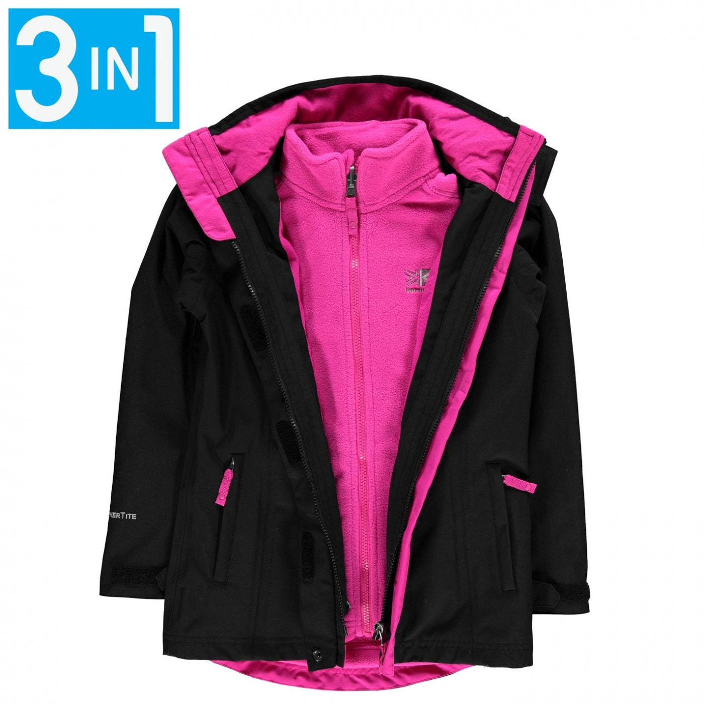 Karrimor Charcoal 3in1 Jacket Junior
