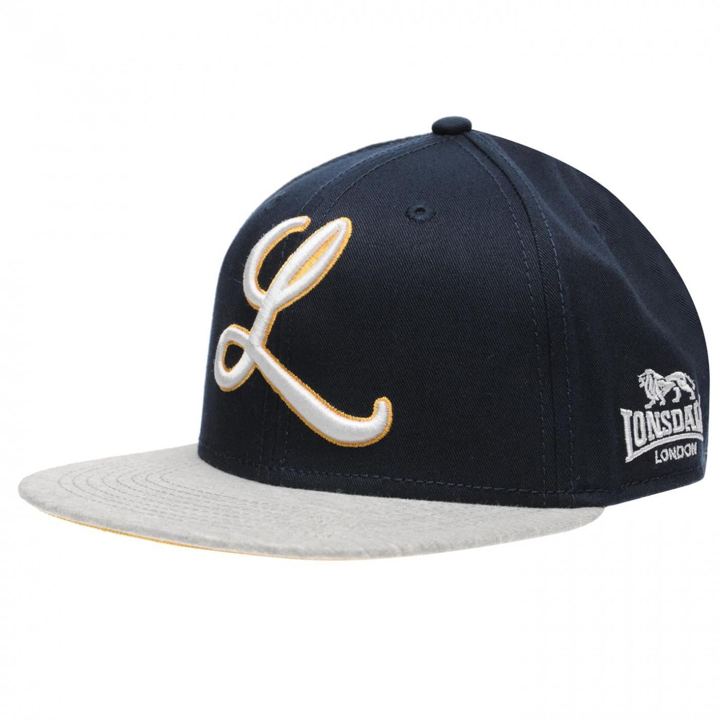 Lonsdale Logo Snapback Mens