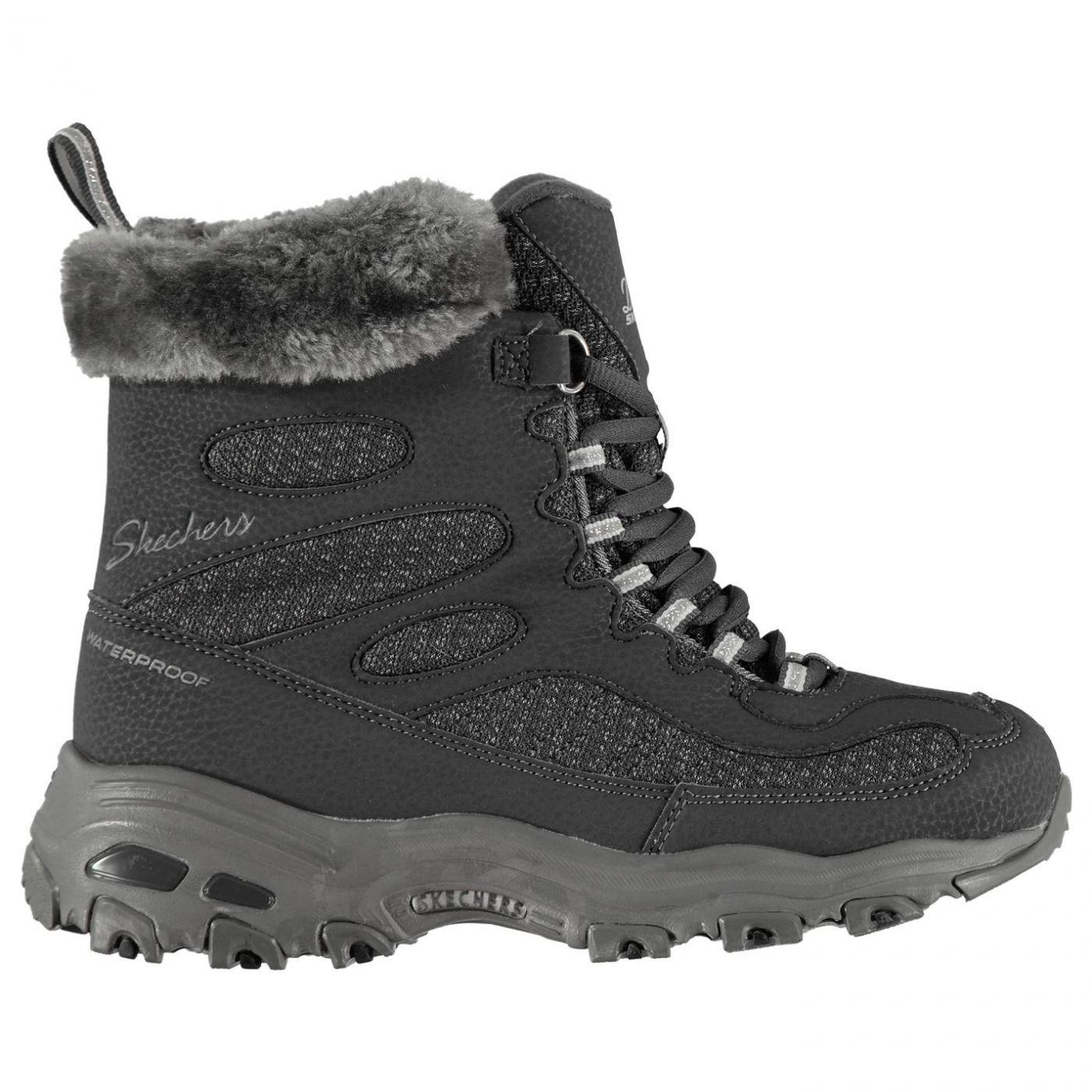 Skechers D'lites BC Ladies Boots