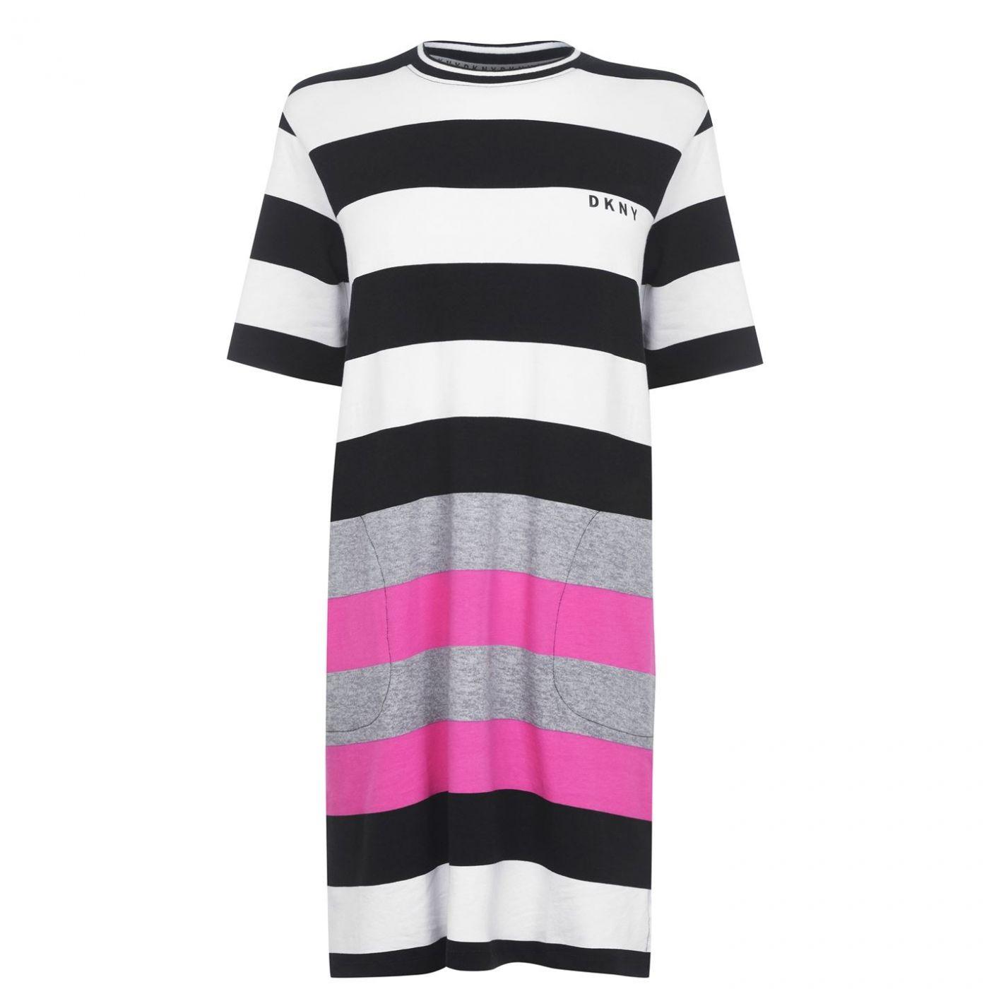 DKNY Stripe Sleep Shirt