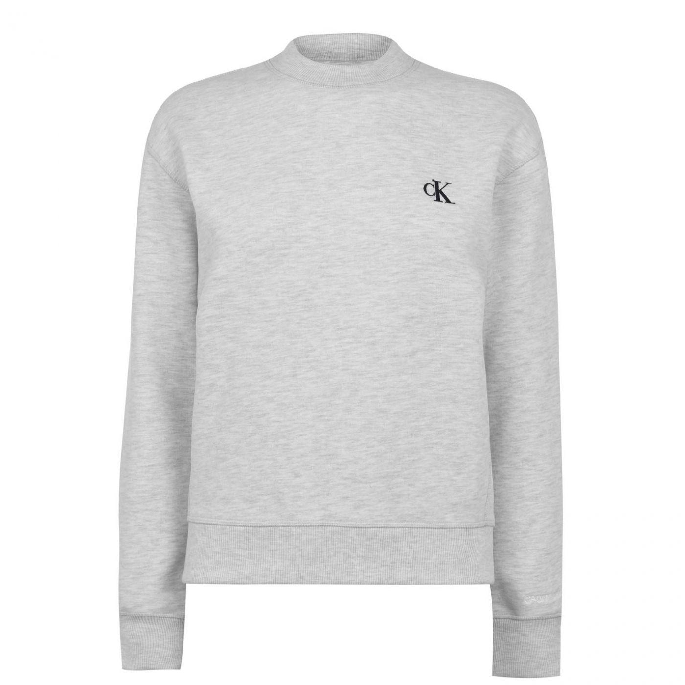 Calvin Klein Jeans Embroidered Logo Sweatshirt