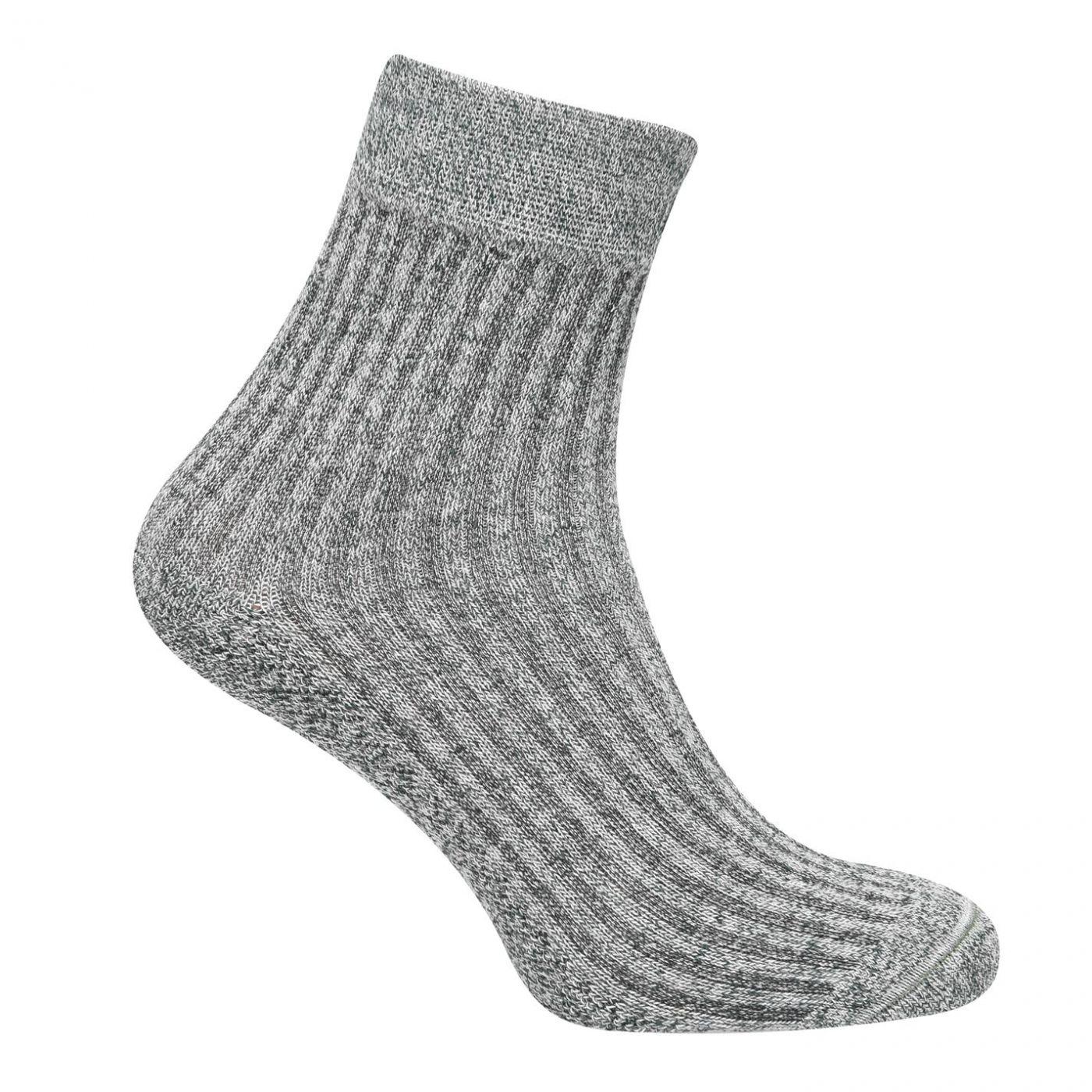 Lee Cooper 3 Pack Rib Crew Socks Mens