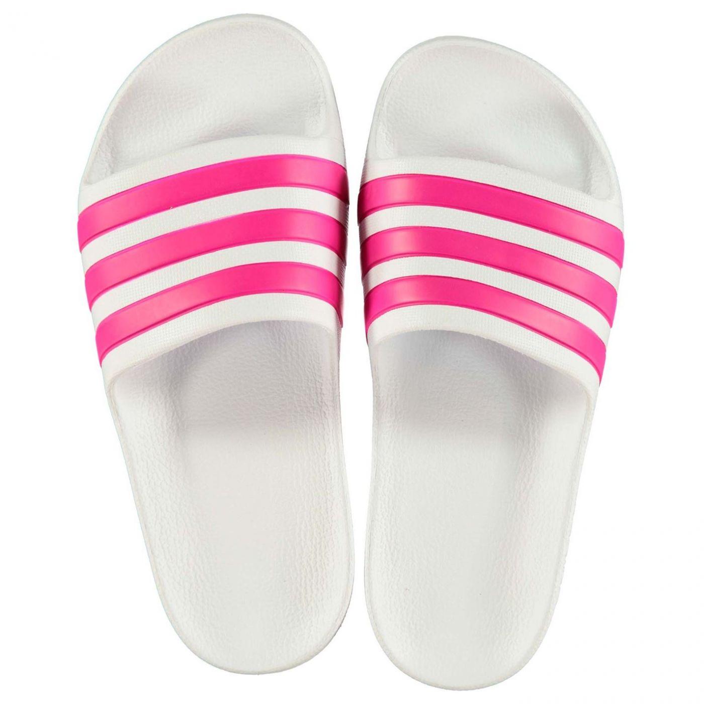 Adidas Duramo Slide Child Girls Pool Shoes