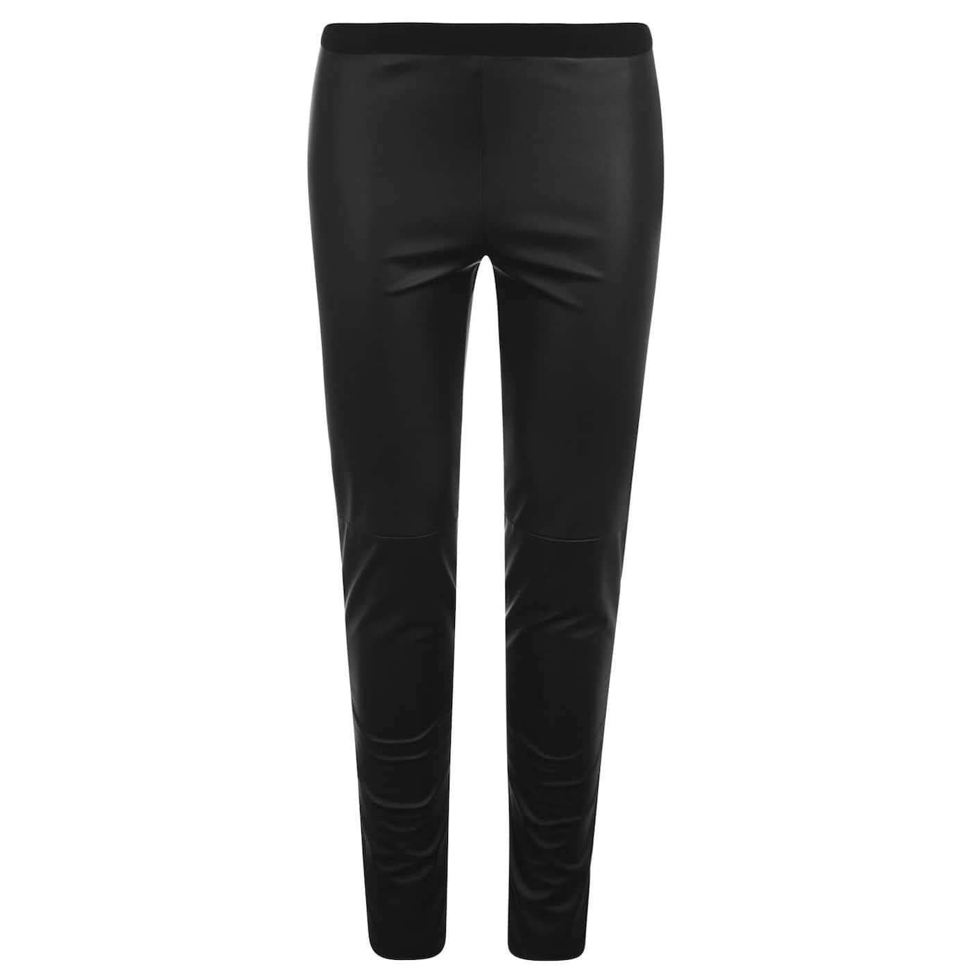 SET Leather Look Leggings