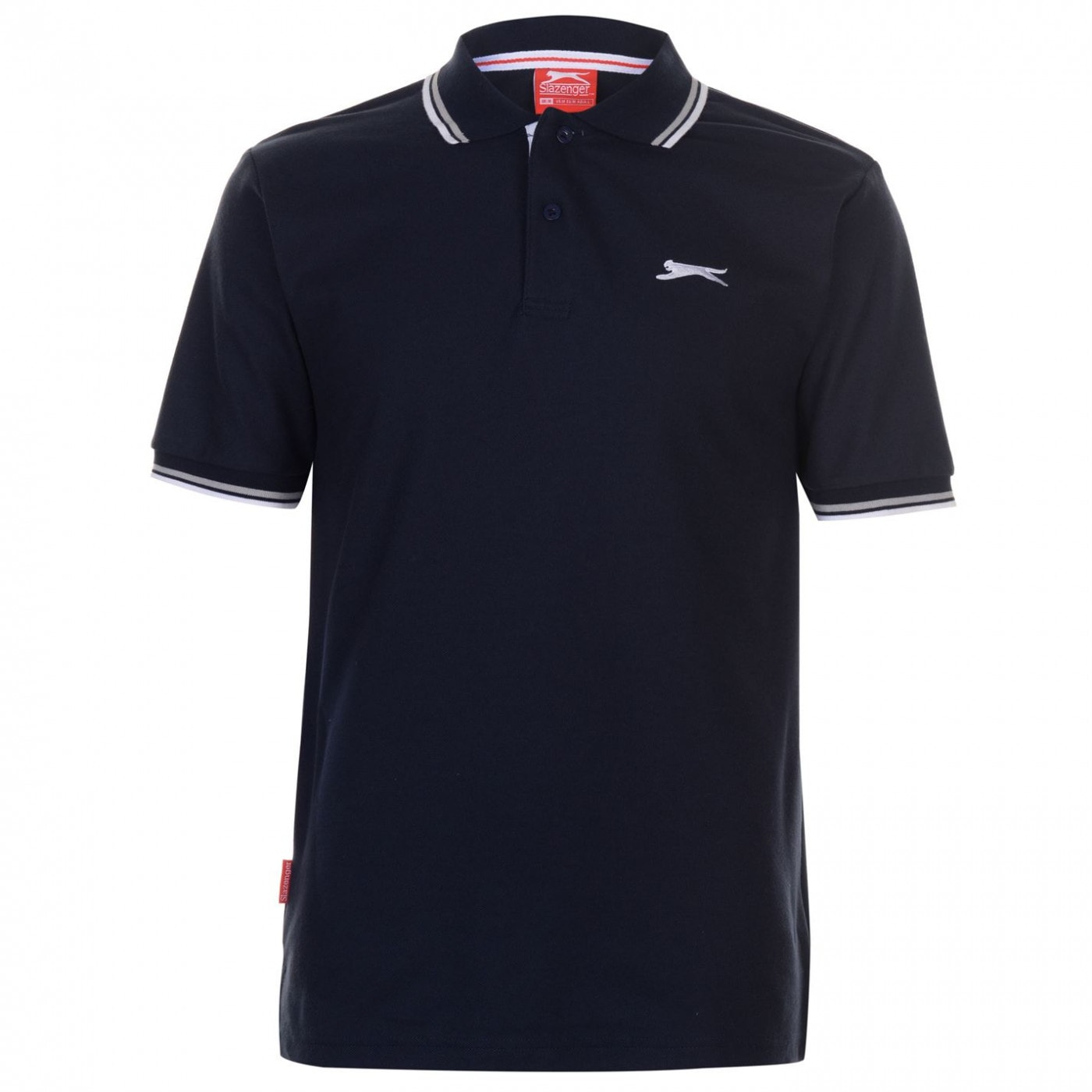 Slazenger Tipped Polo Shirt Mens