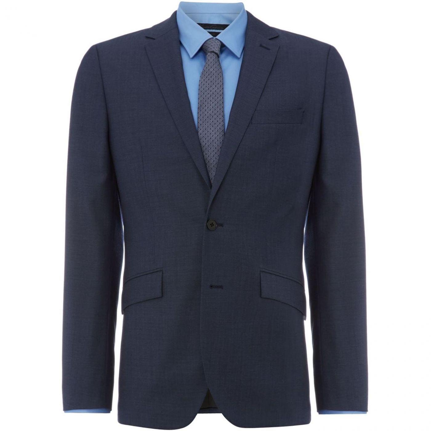 Kenneth Cole Byram Twill Travel Suit Jacket