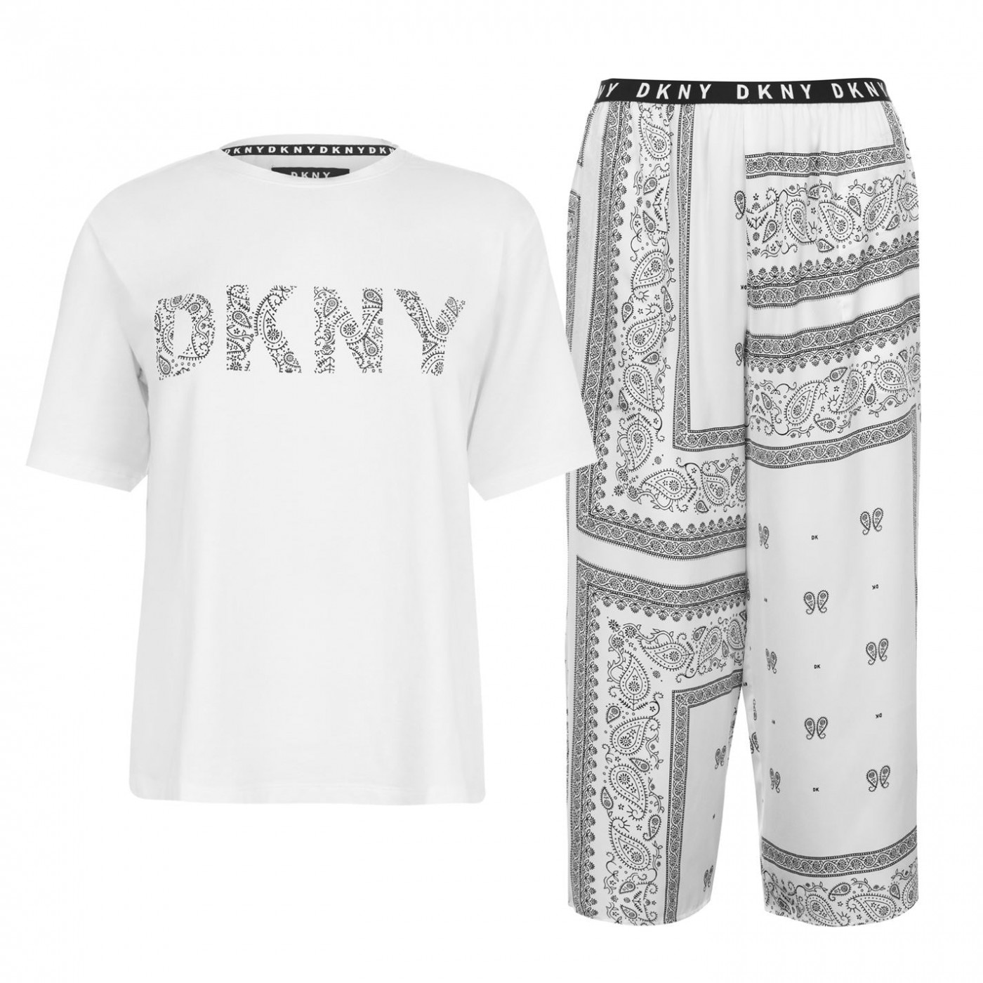 DKNY Top and Capri Pyjamas