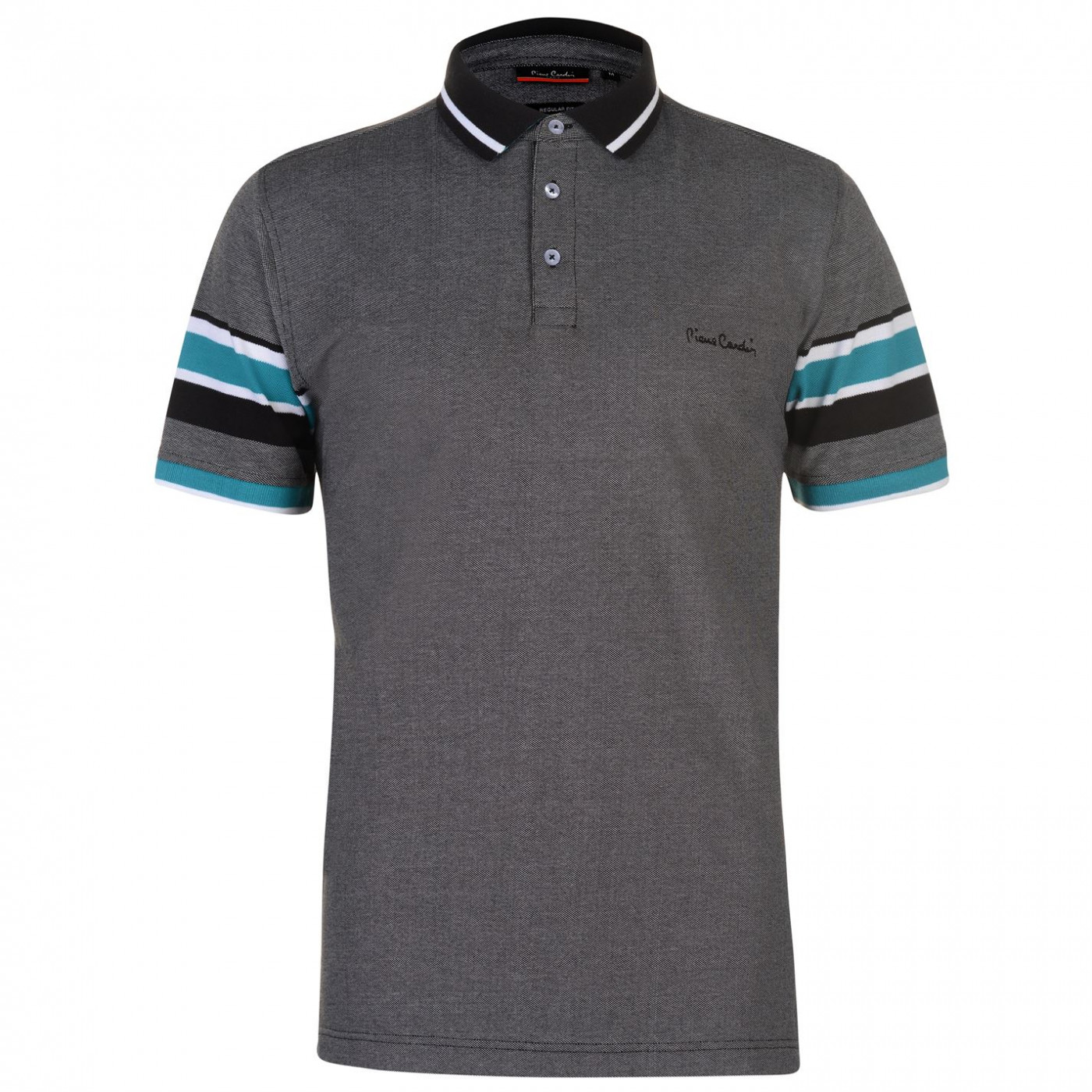 Pierre Cardin Yarn Tipped Polo Shirt Mens