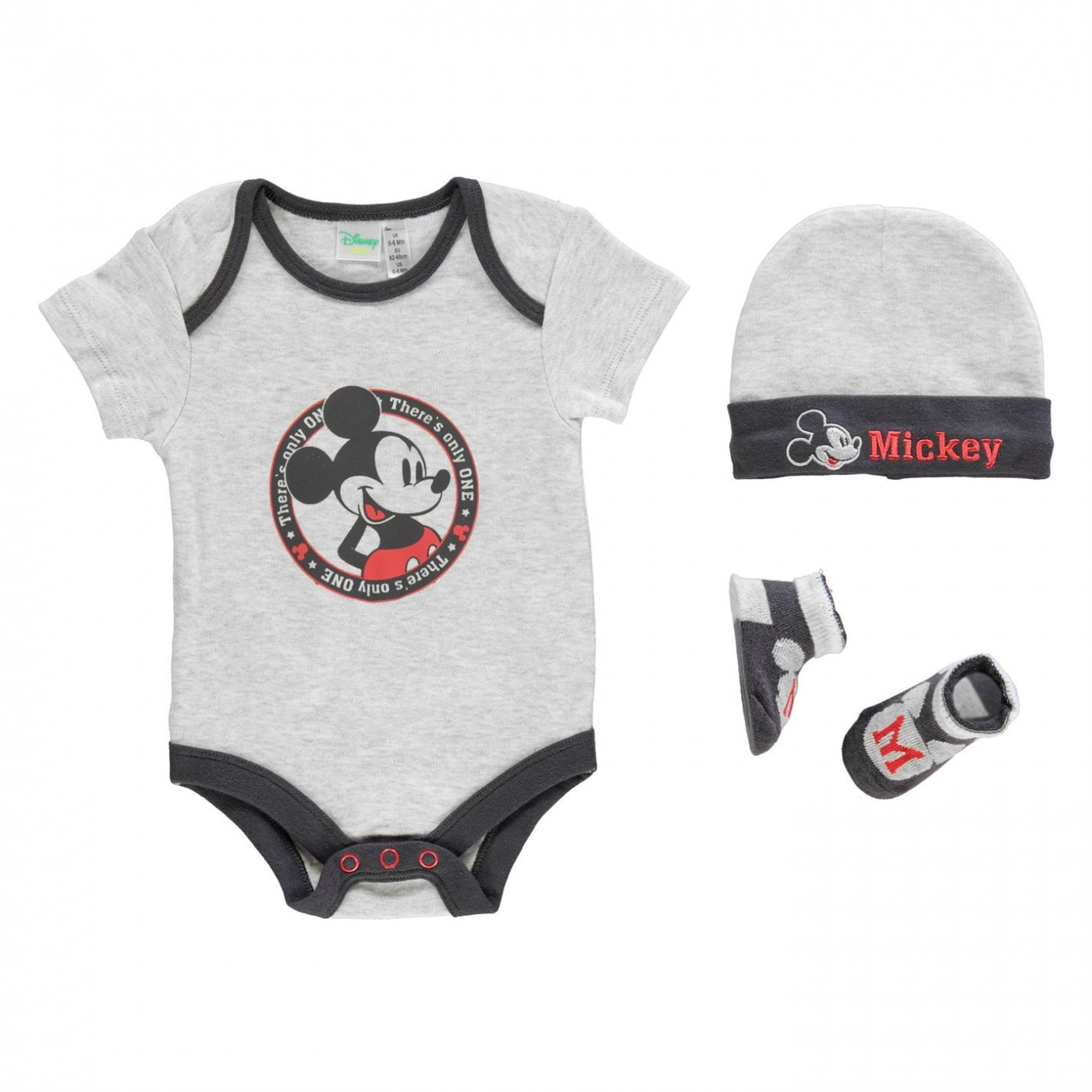 Character 3 Pack Romper Suit Set Baby