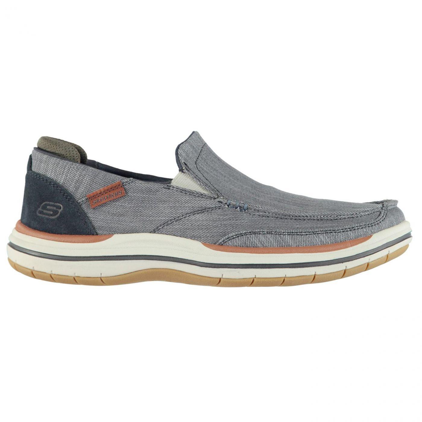 Skechers Elson Amster Mens Slip On Shoes