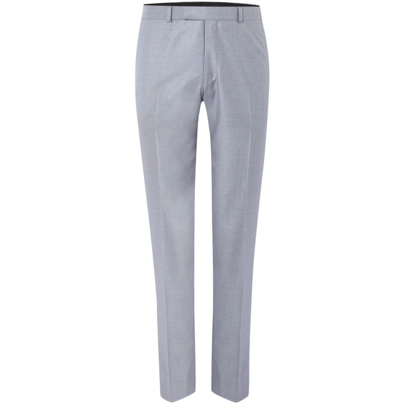 Kenneth Cole Skylar Slim Flat Front Trousers