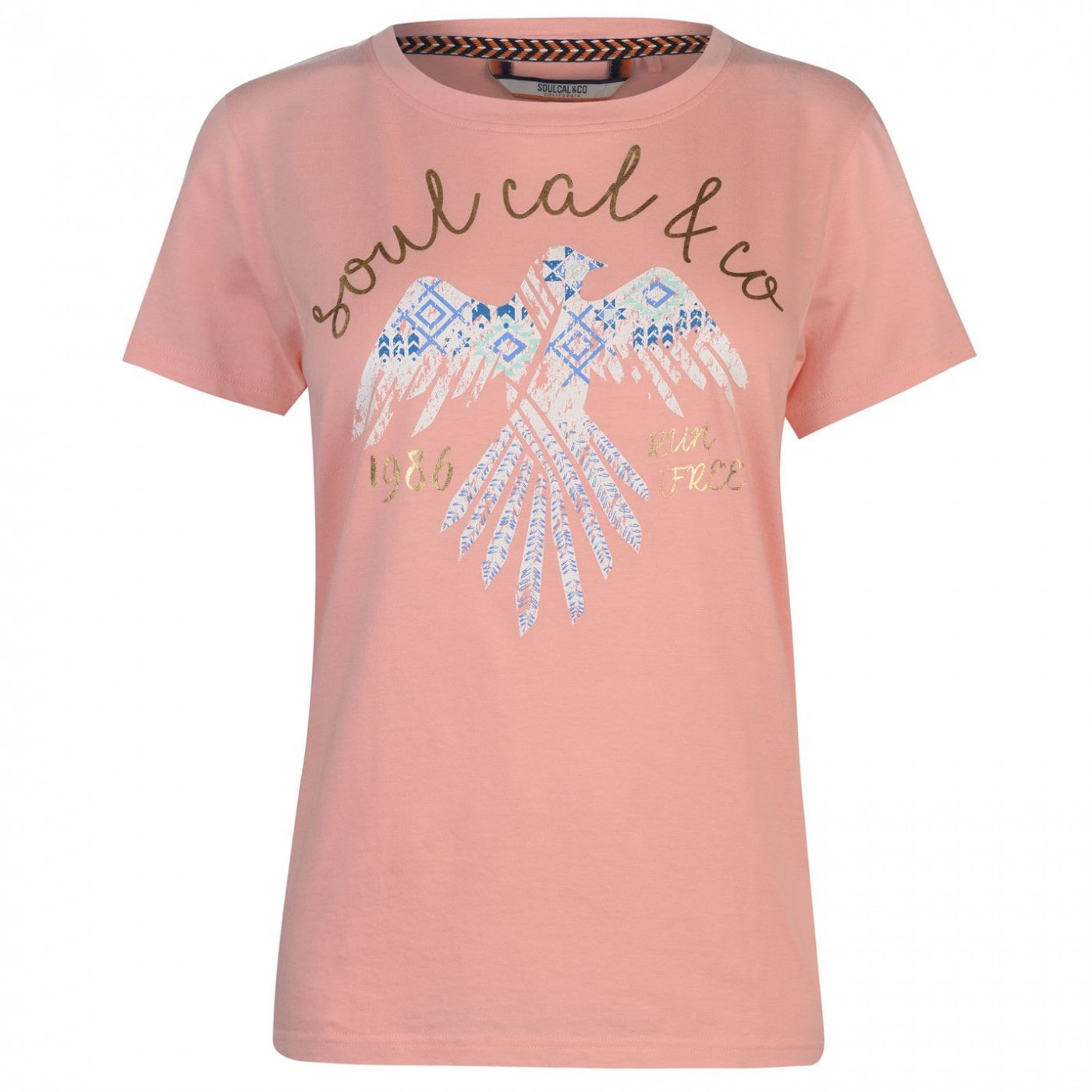SoulCal Fashion Luxe T Shirt Ladies