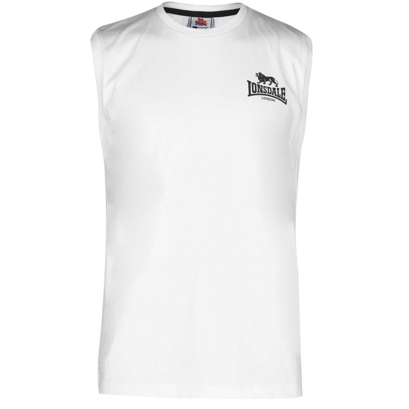 Lonsdale Sleeveless T Shirt Mens