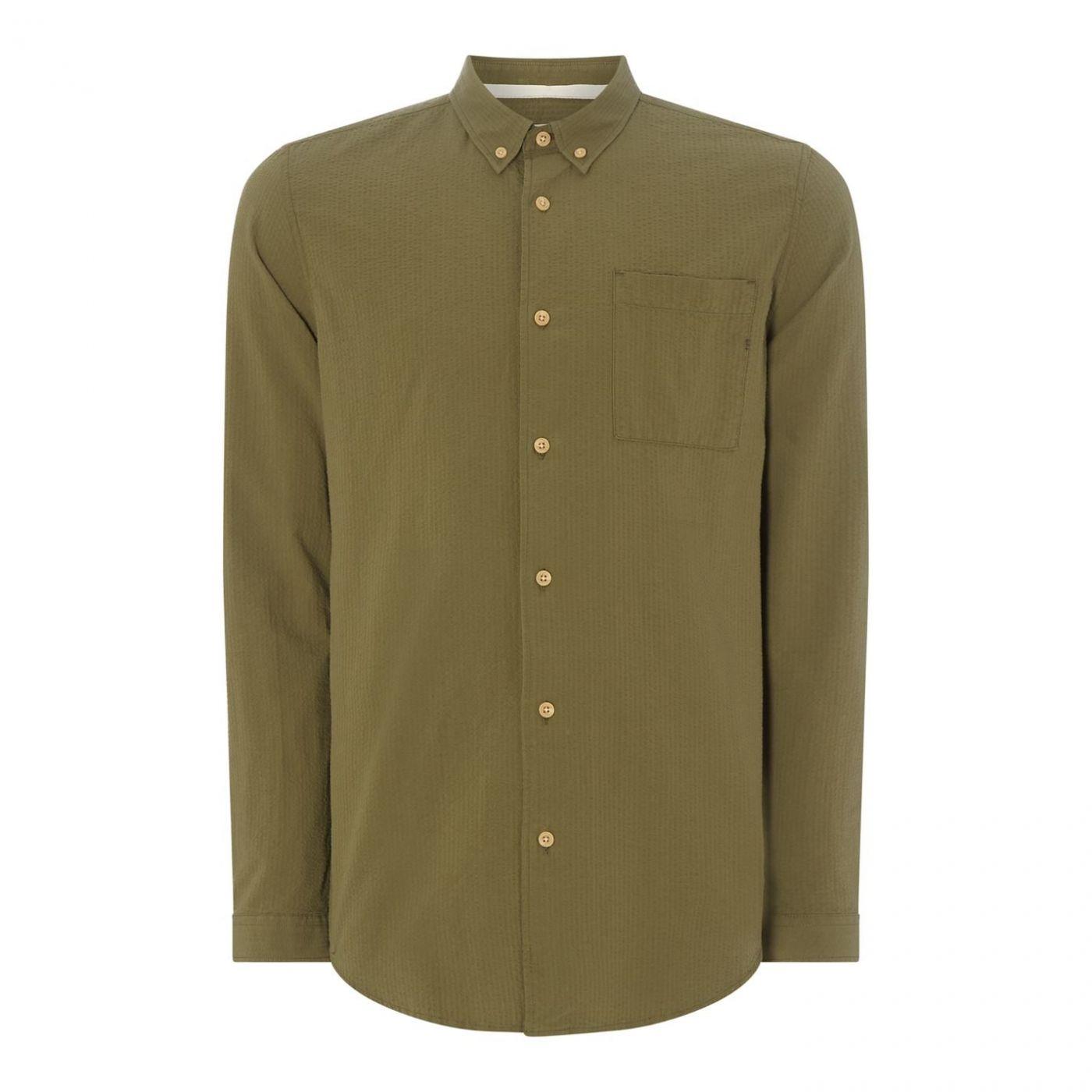 Hymn Long Sleeved Seerscker Shirt