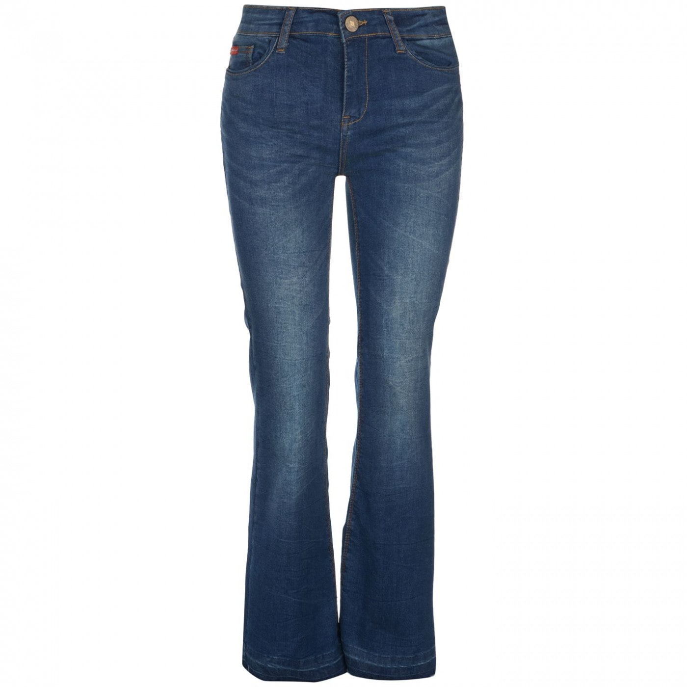 Lee Cooper Flare Hem Jeans Ladies