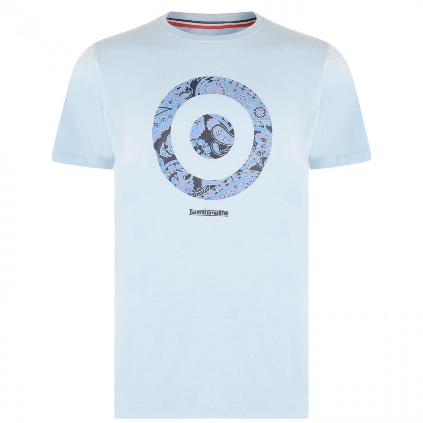 Lambretta Paisley Target T Shirt