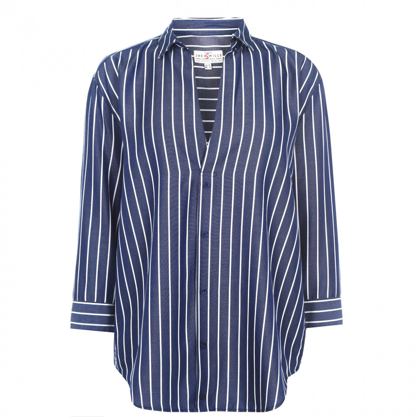 Jack Wills Southcote Casual Stripe Shirt