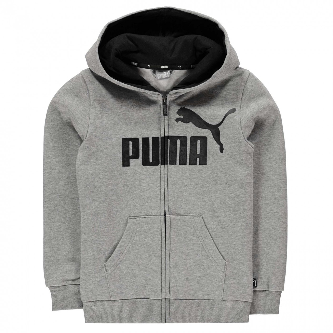 Puma No 1 Logo Zip Hoodie Junior Boys
