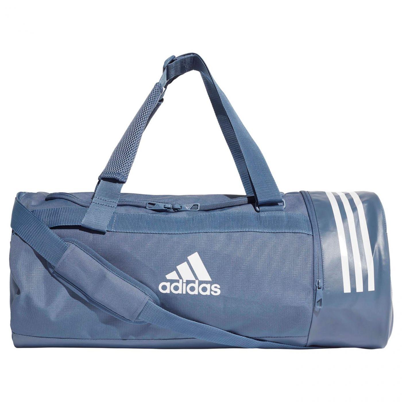 Adidas Convertible 3-Stripes Medium Duffel Bag