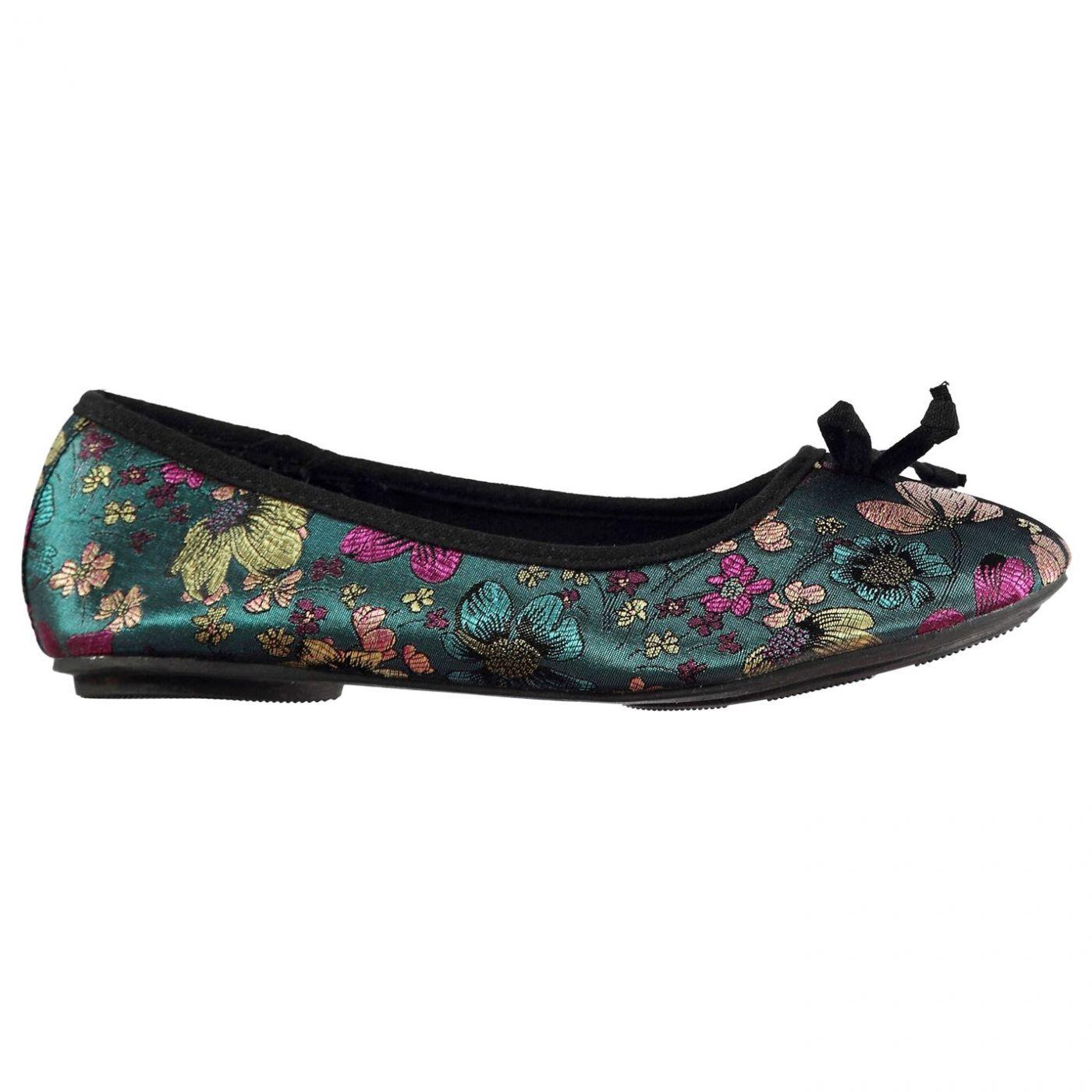 Miso Floral Ladies Ballet Shoes