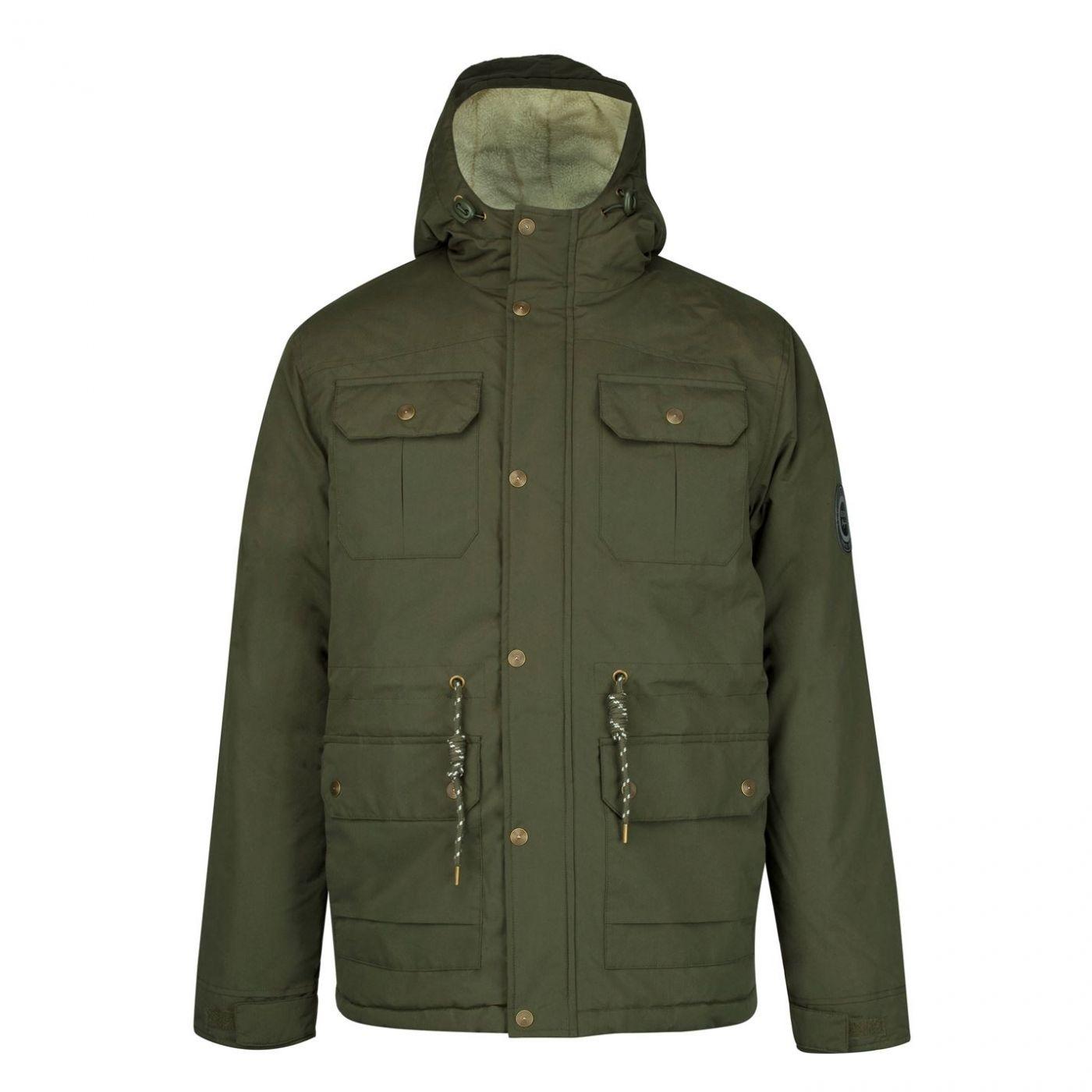 Lee Cooper Hooded Parka Jacket pánské