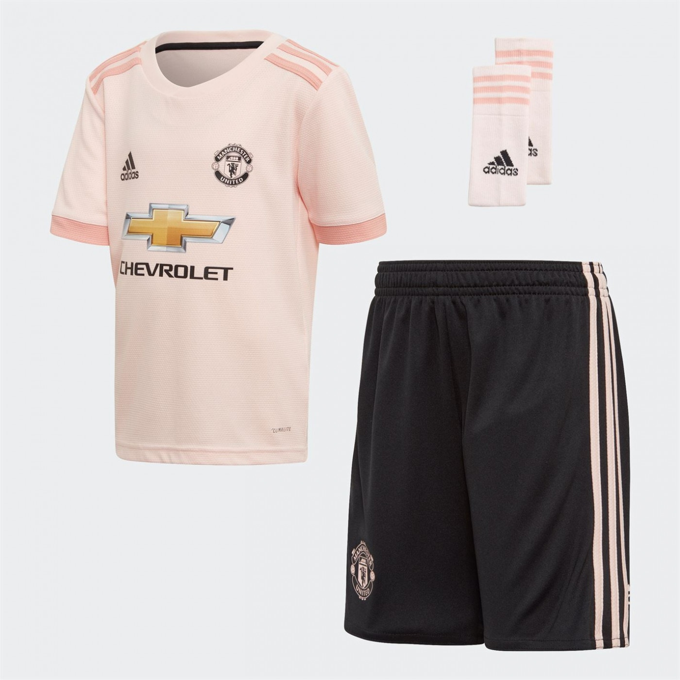 Adidas Manchester United Away Mini Kit 2018 2019