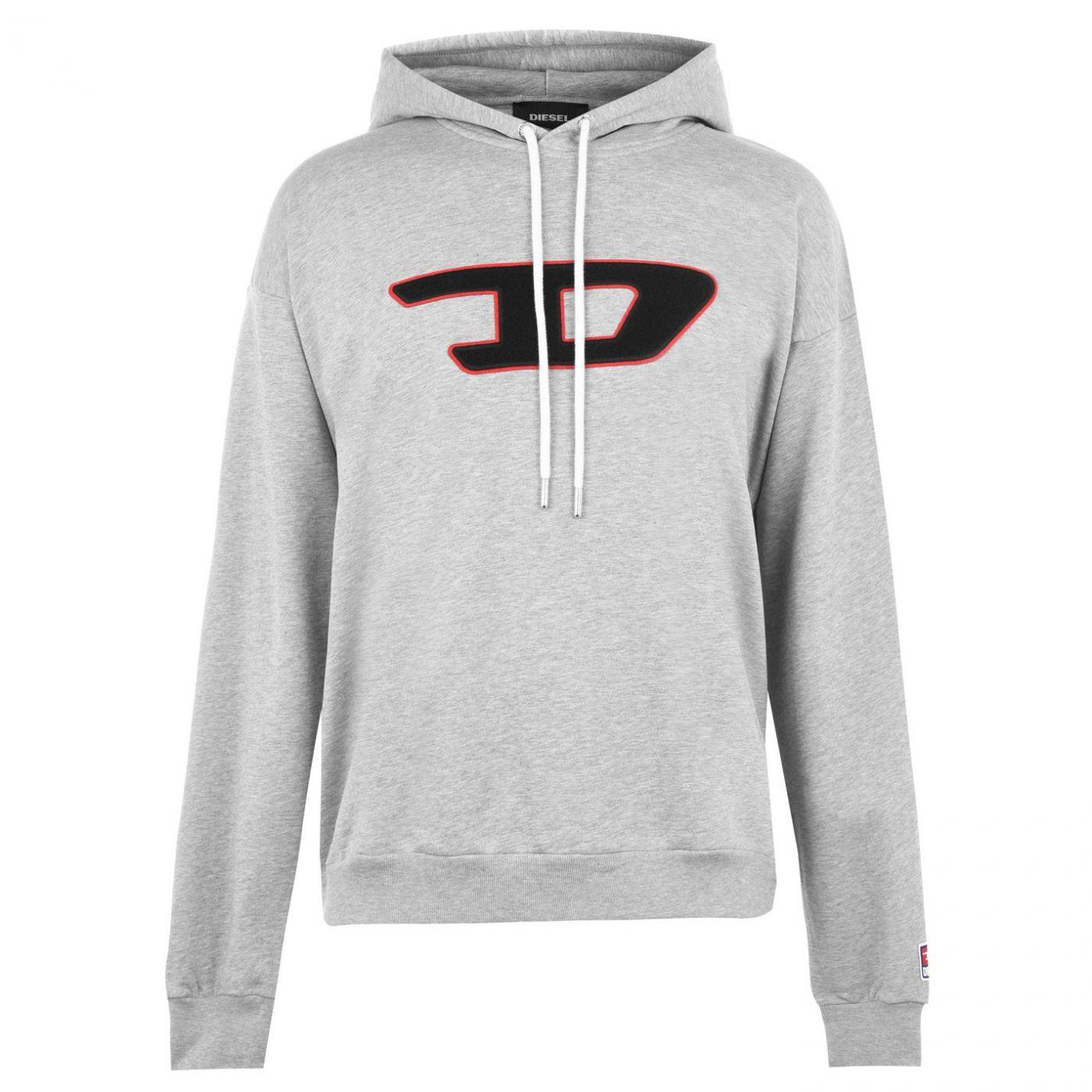Diesel Patch Hooded Sweatshirt