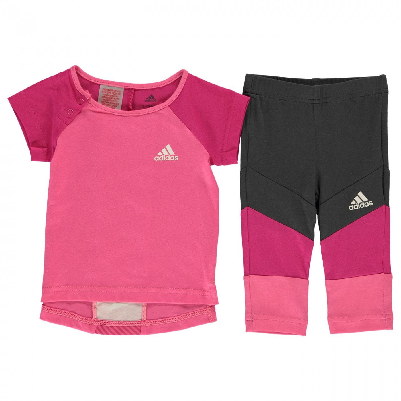 46af4010a13a Adidas Baby Girls T Shirt And Leggings Set - FACTCOOL
