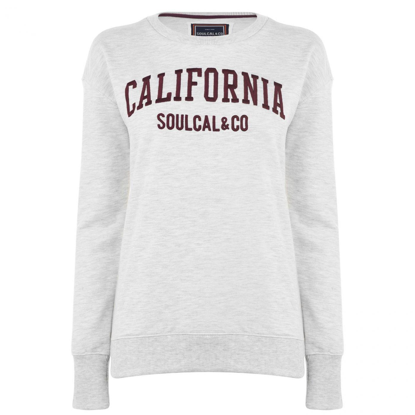 SoulCal Logo Sweatshirt Ladies