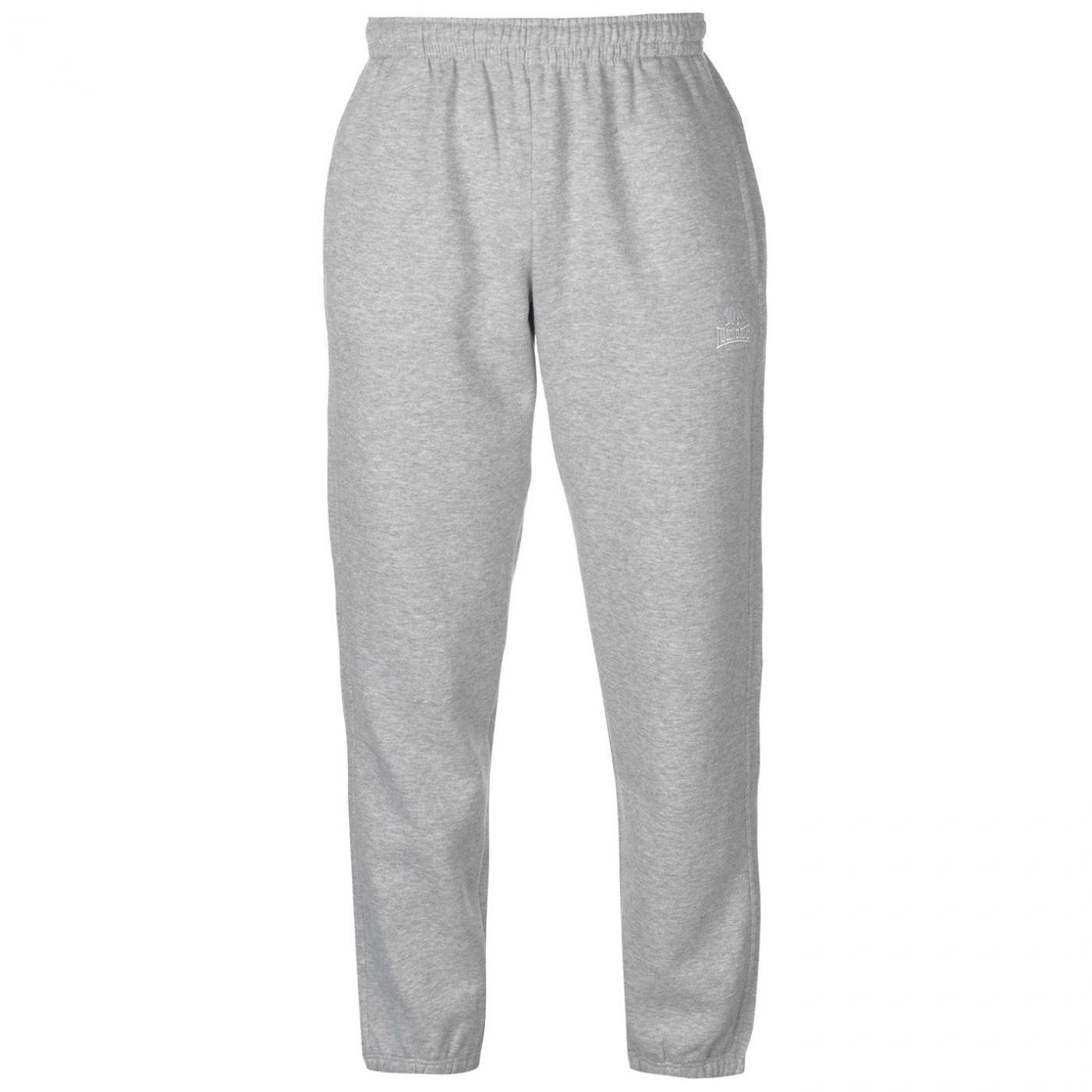 Lonsdale Cuffed Hem Fleece Pants Mens