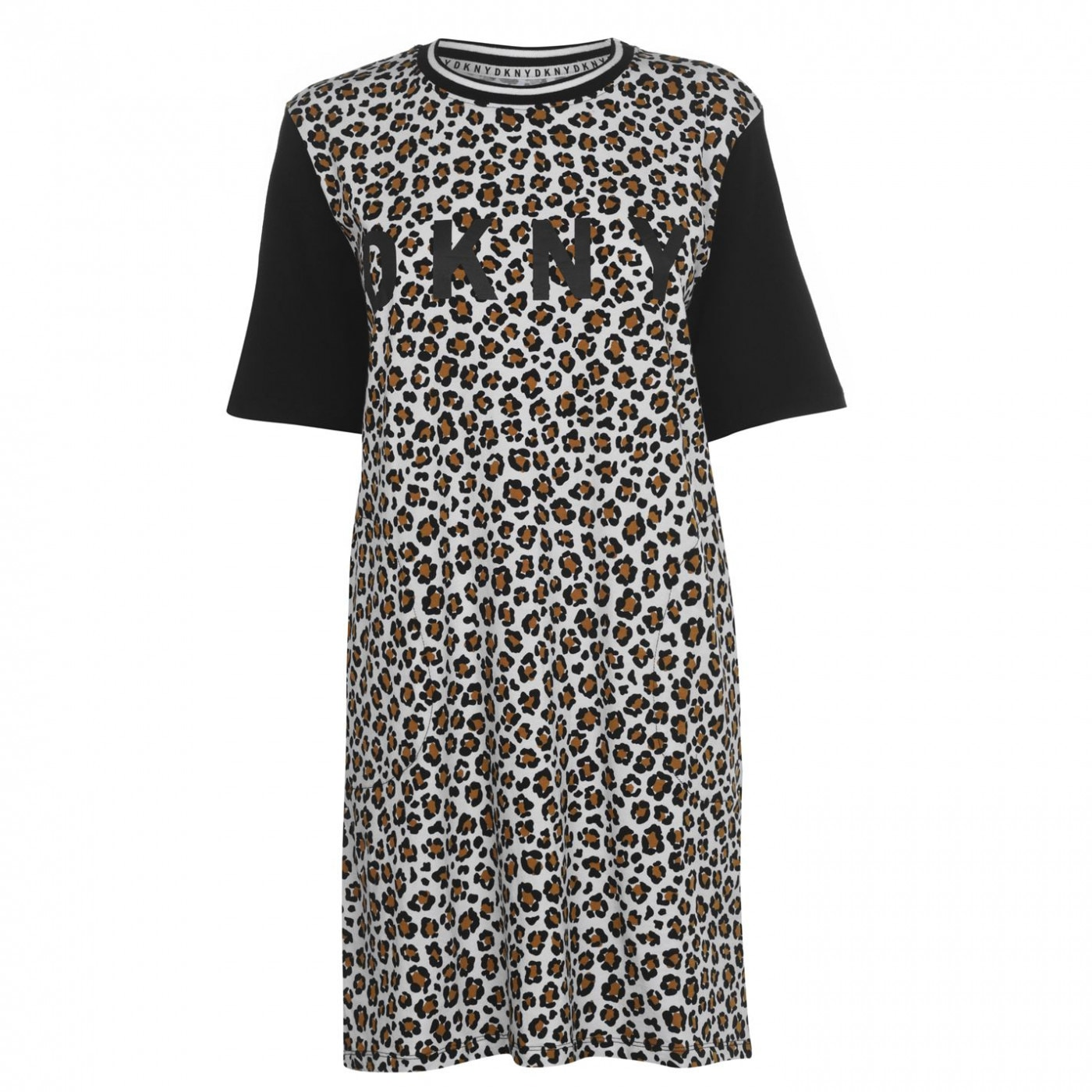 DKNY Leopard Sleep Shirt
