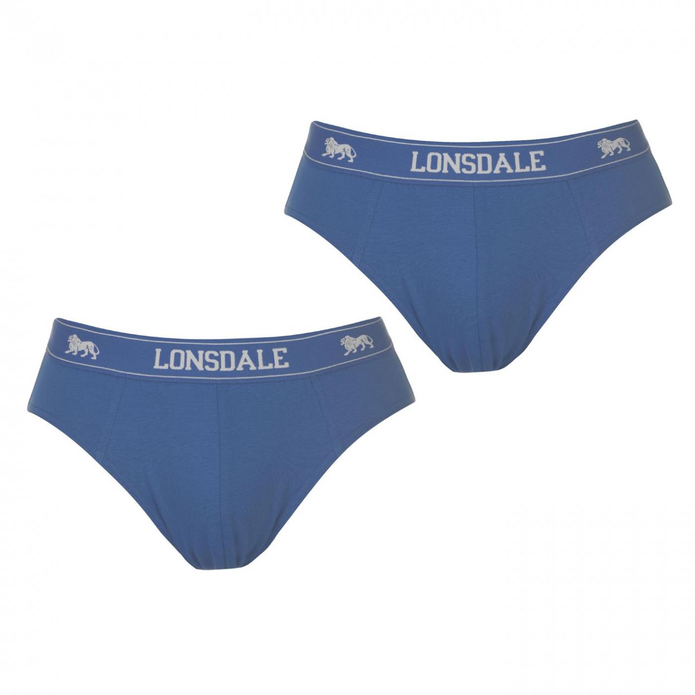 Lonsdale 2Pk Brief Mens