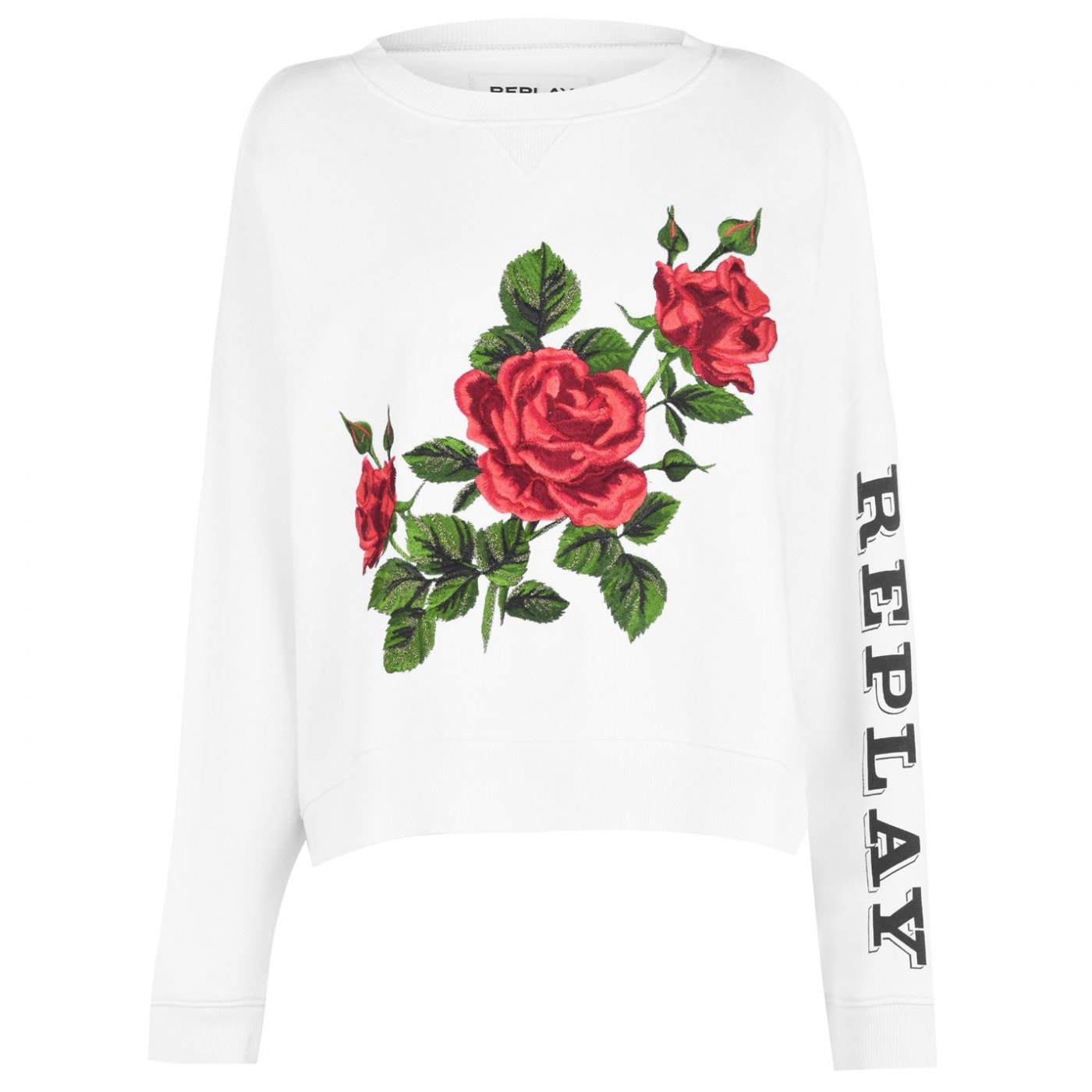 Replay Rose Sweatshirt