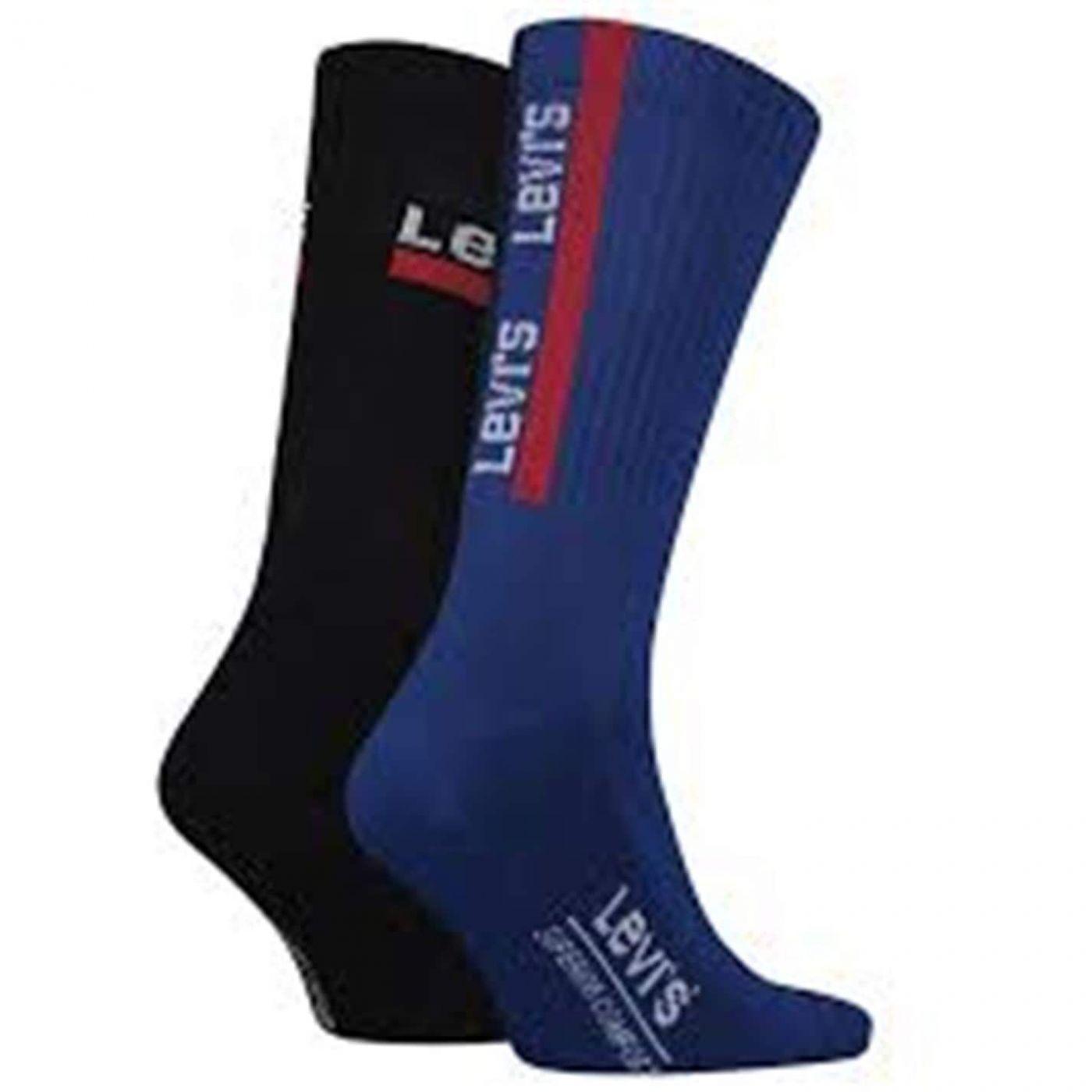 Levis 2 Pack Socks Mens
