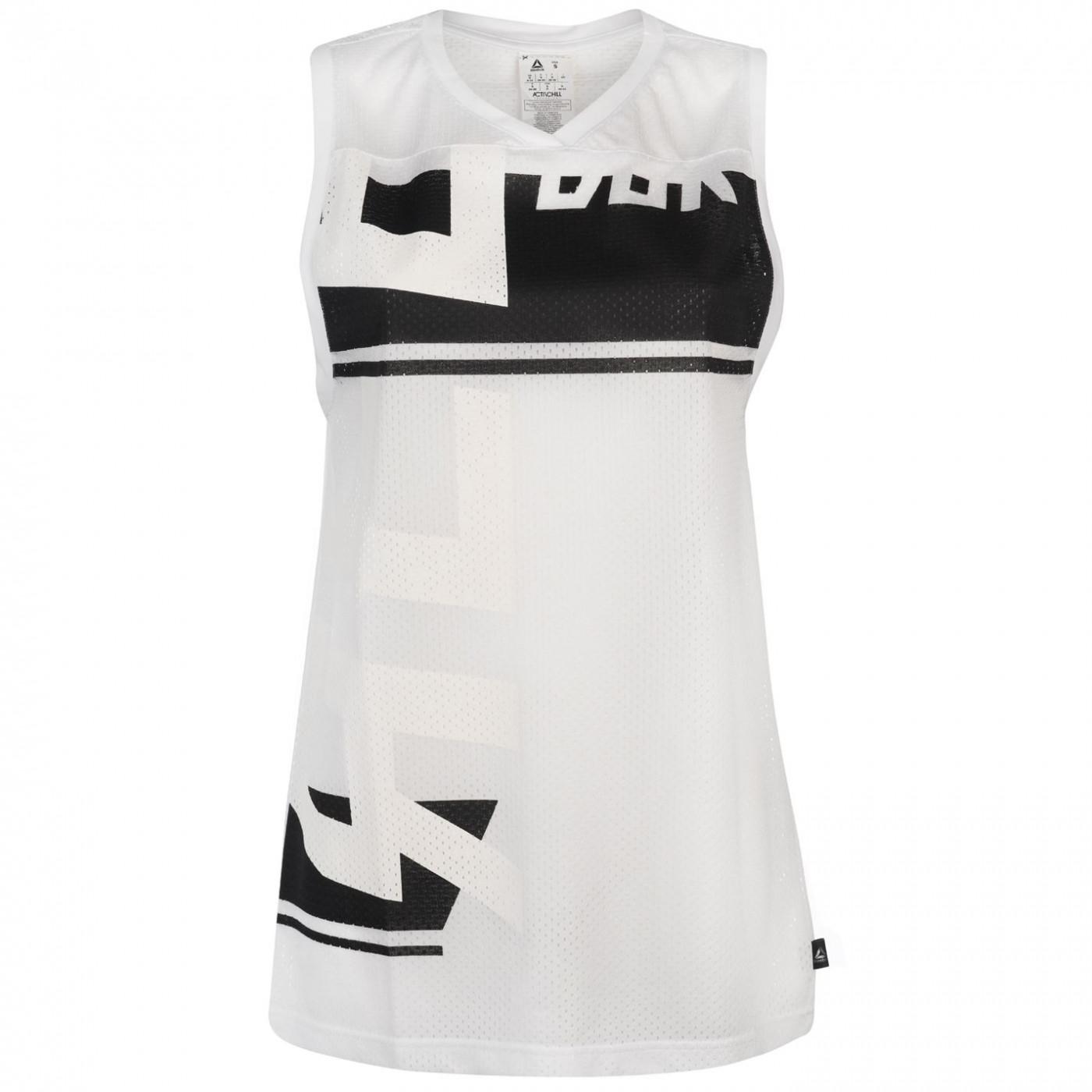 Reebok Workout Mesh Basketball Top Ladies
