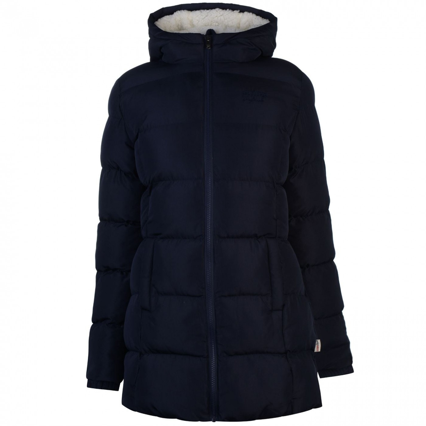 Lee Cooper Long Padded Jacket Ladies
