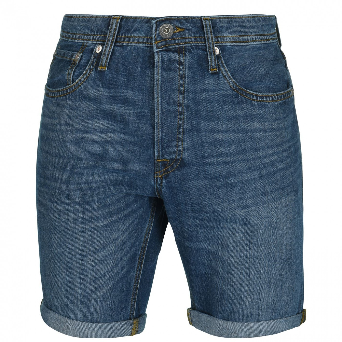 Jack and Jones Rick Denim Shorts Mens