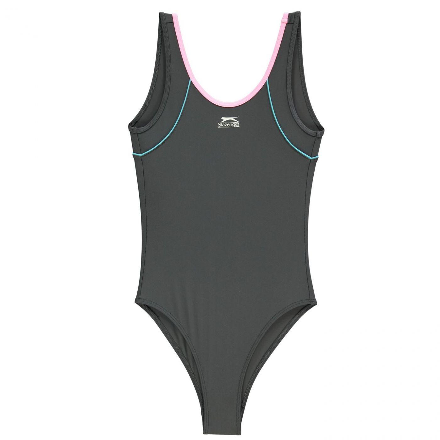 Slazenger Basic Swimsuit Junior Girls