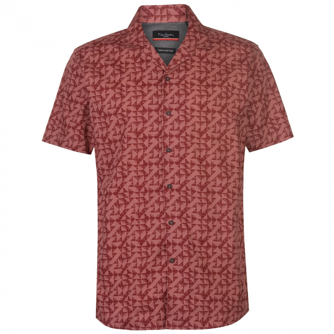 Men's shirt Pierre Cardin Reverse Geometric Print