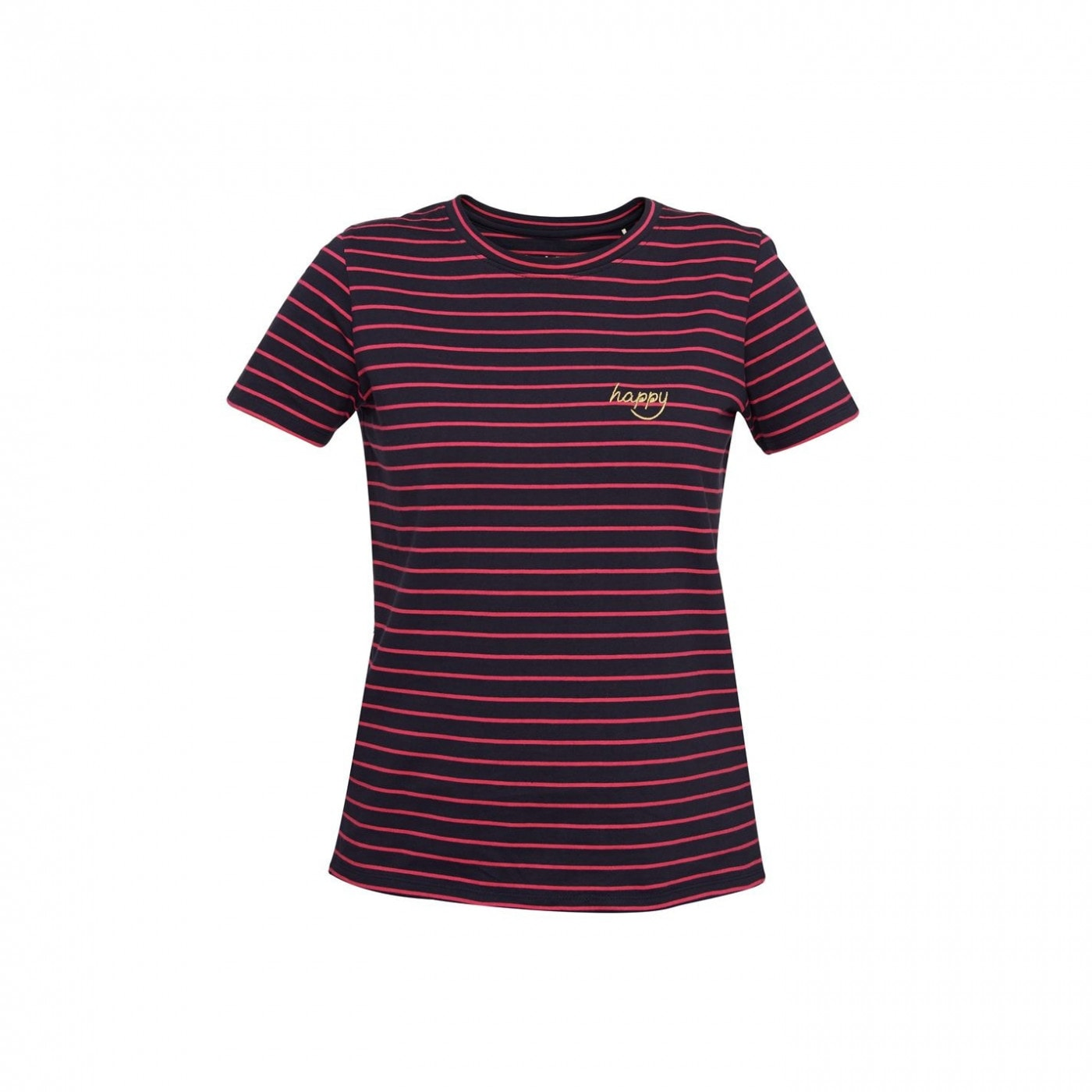 People Tree Happy Striped T-Shirt