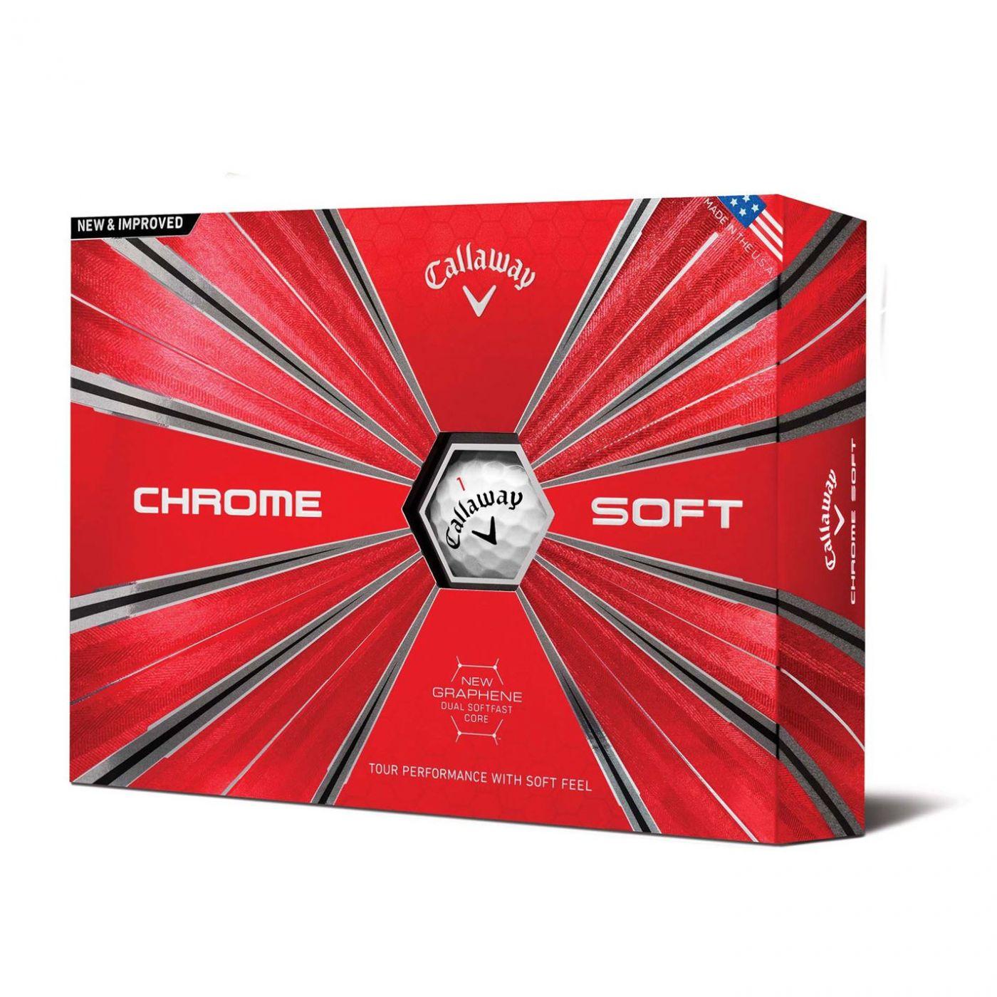 Callaway Chrome Soft 12 Pack Golf Balls