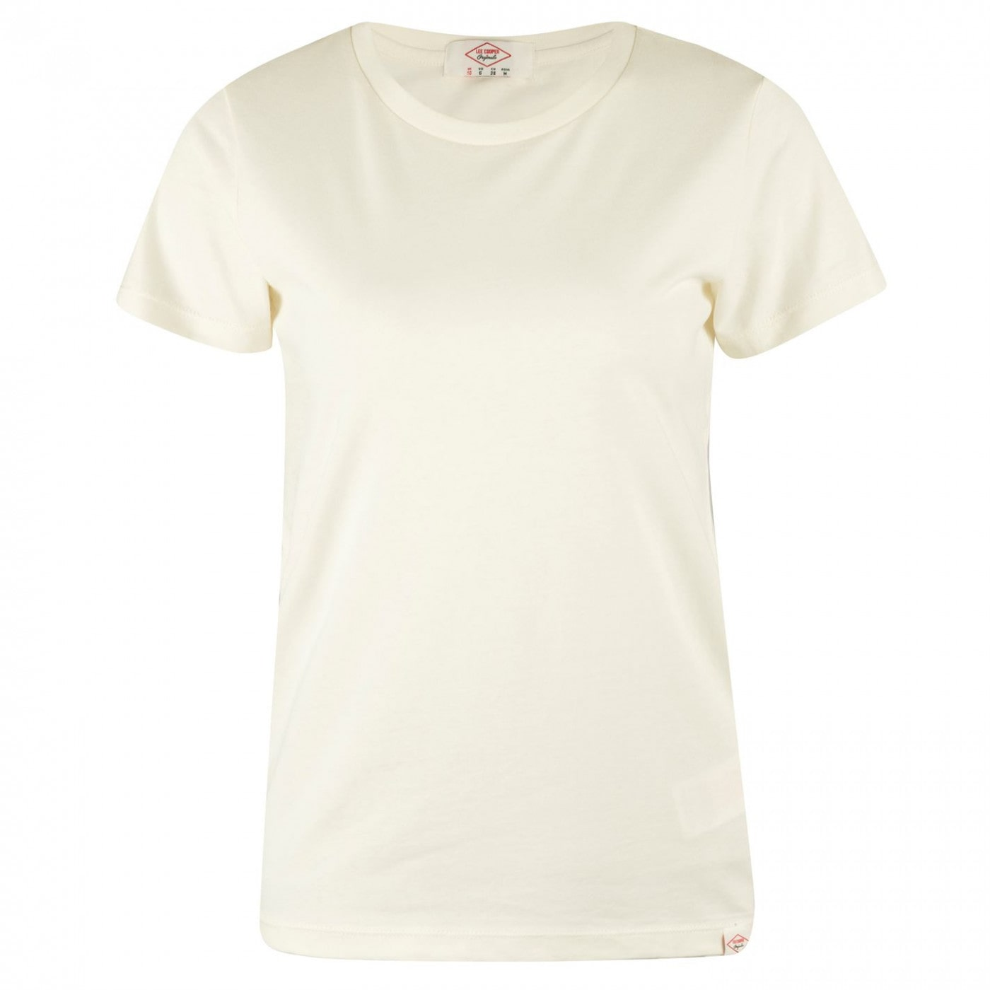 Lee Cooper Brush Cotton T Shirt Ladies