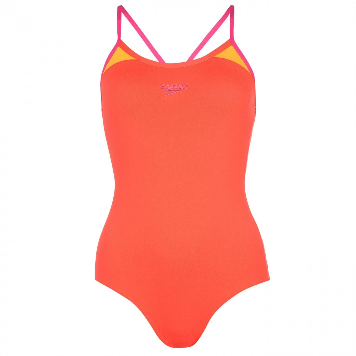 Speedo Thin Strap Swimsuit Ladies